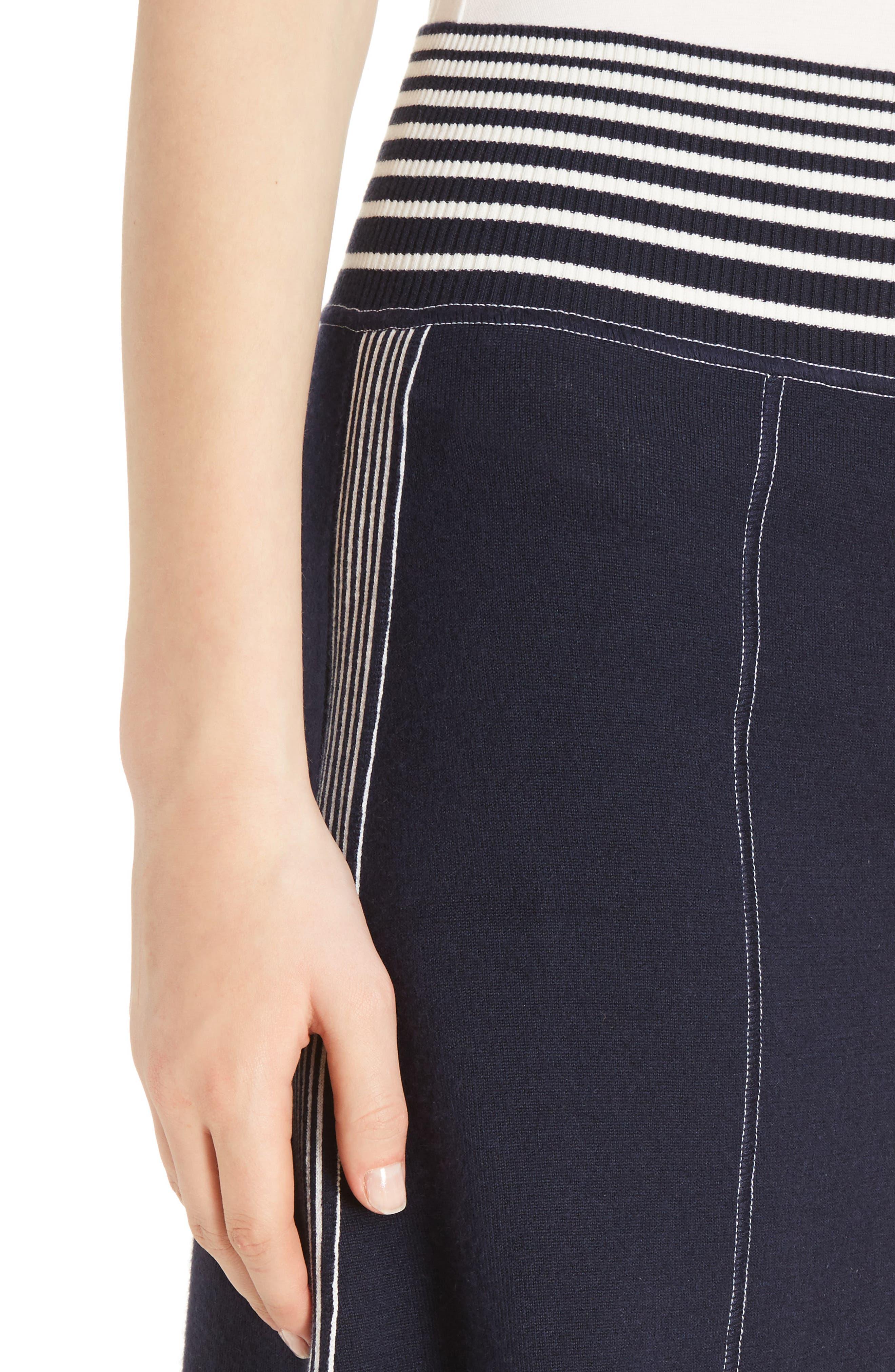 Alternate Image 5  - Loewe Stripe Knit Skirt