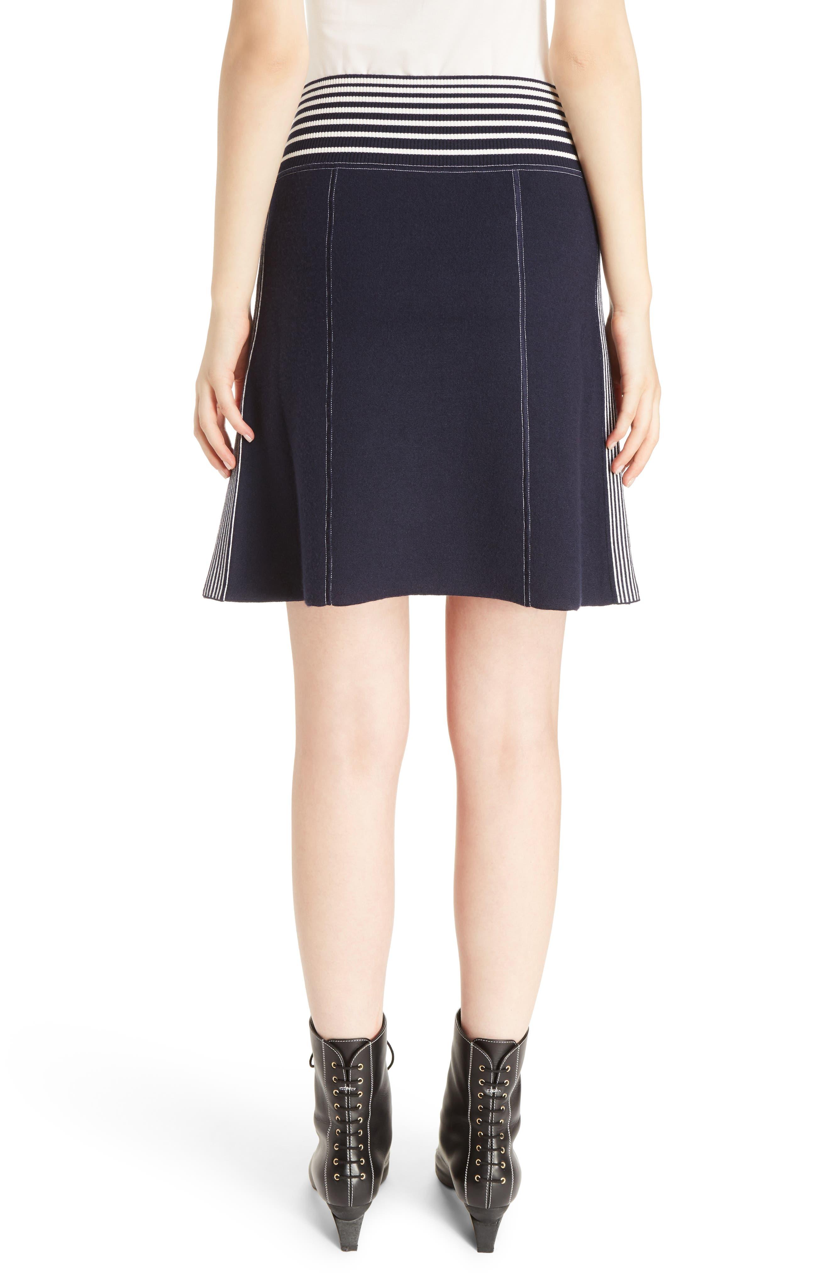 Alternate Image 2  - Loewe Stripe Knit Skirt