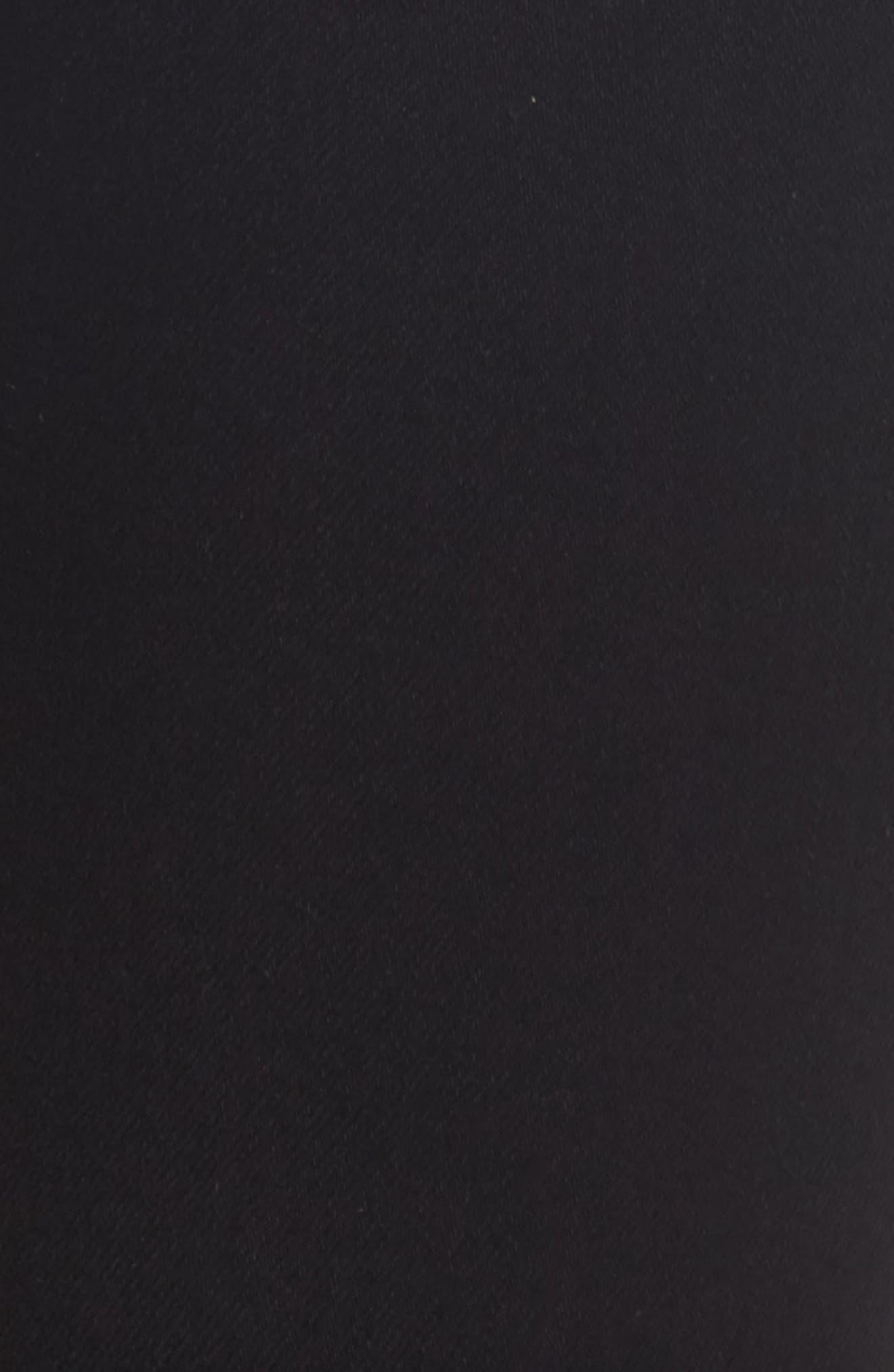 Alternate Image 5  - Hudson Jeans 'Elysian - Nico' Super Skinny Jeans (Destructed Black) (Nordstrom Exclusive)