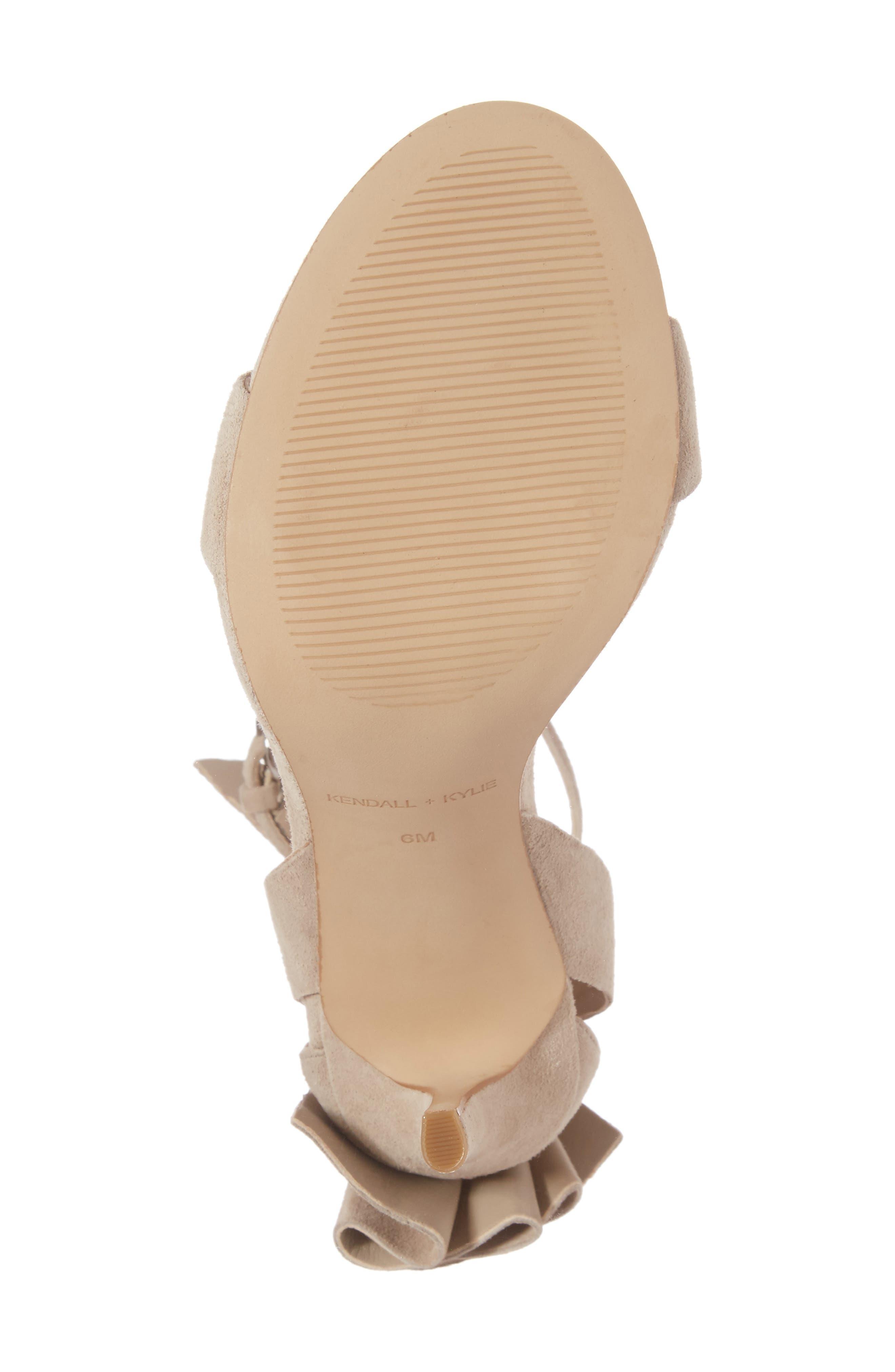 Alternate Image 6  - KENDALL + KYLIE Eve Ankle Strap Sandal (Women)