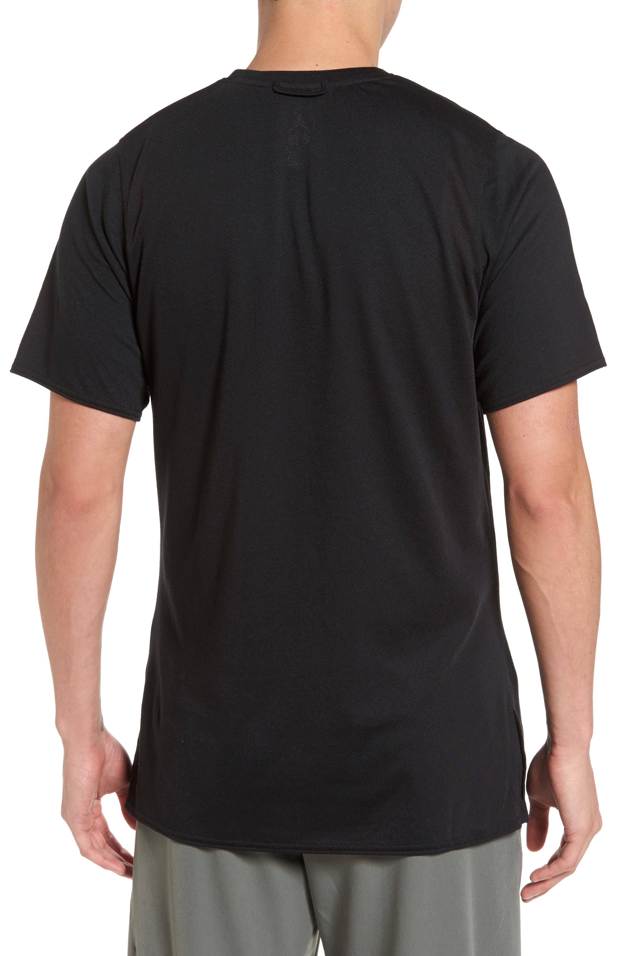23 Alpha Dry T-Shirt,                             Alternate thumbnail 2, color,                             Black/ Anthracite