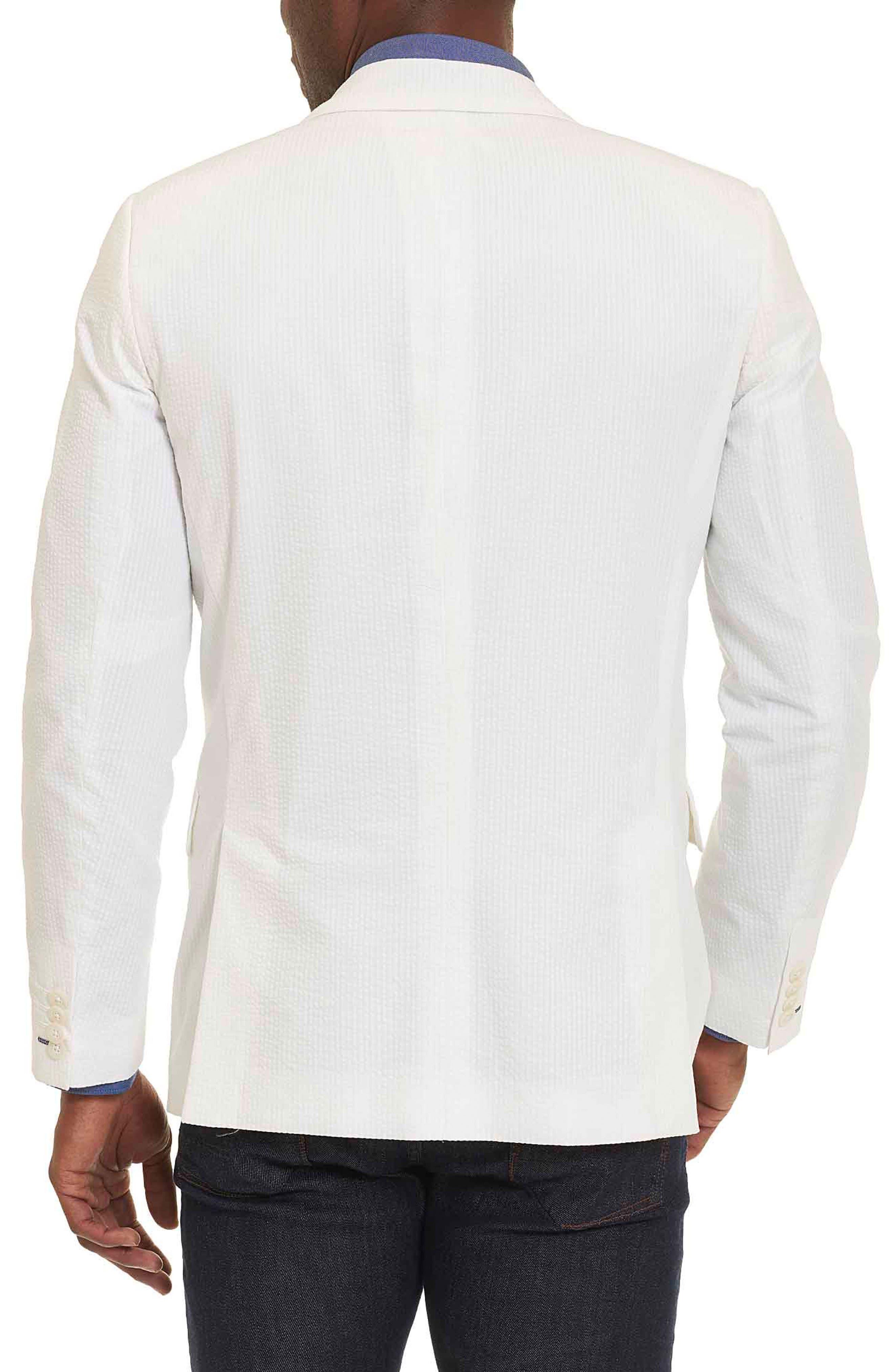 Castroville Classic Fit Sport Coat,                             Alternate thumbnail 2, color,                             White