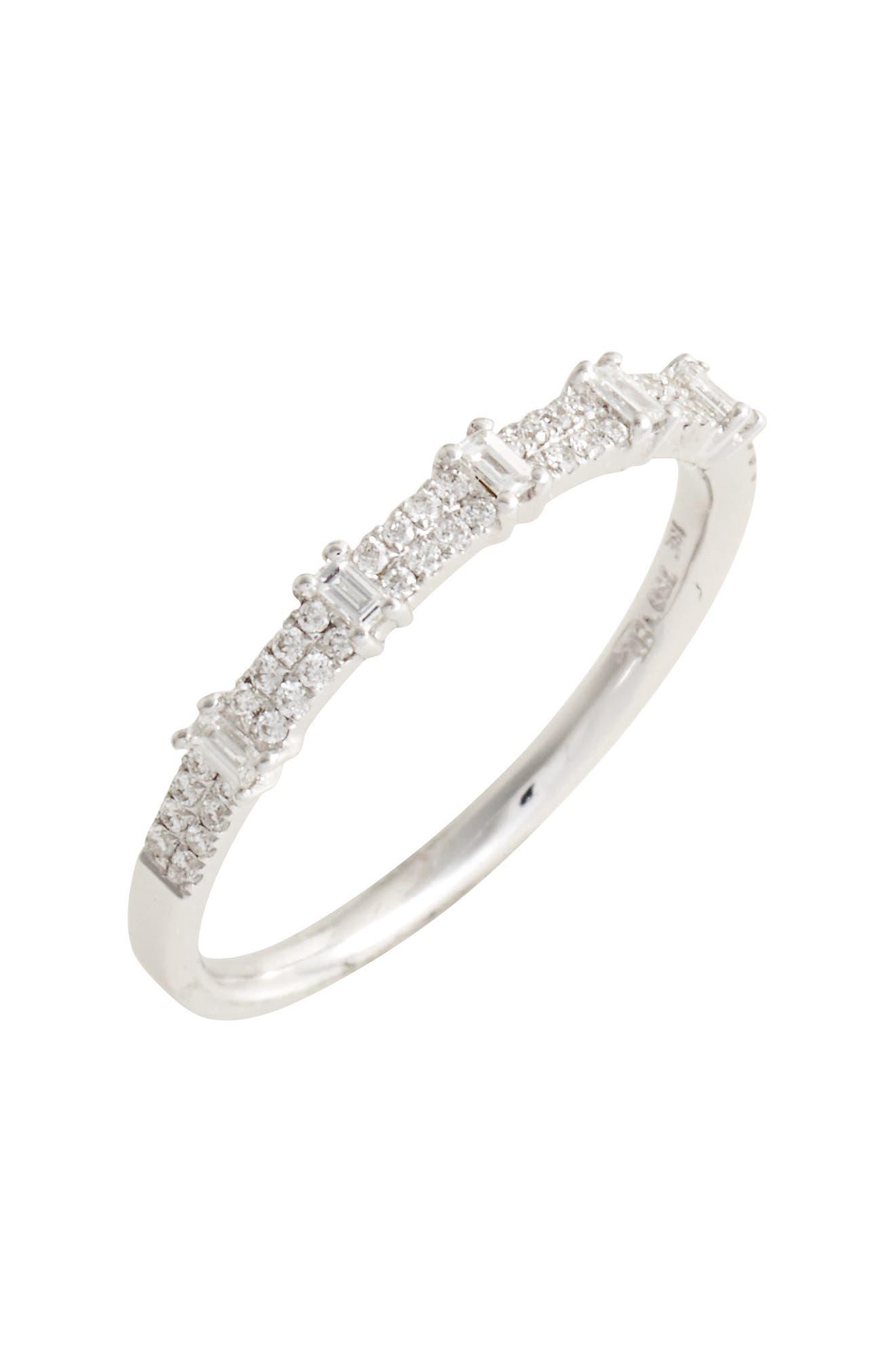 BONY LEVY Amara Diamond Stack Ring