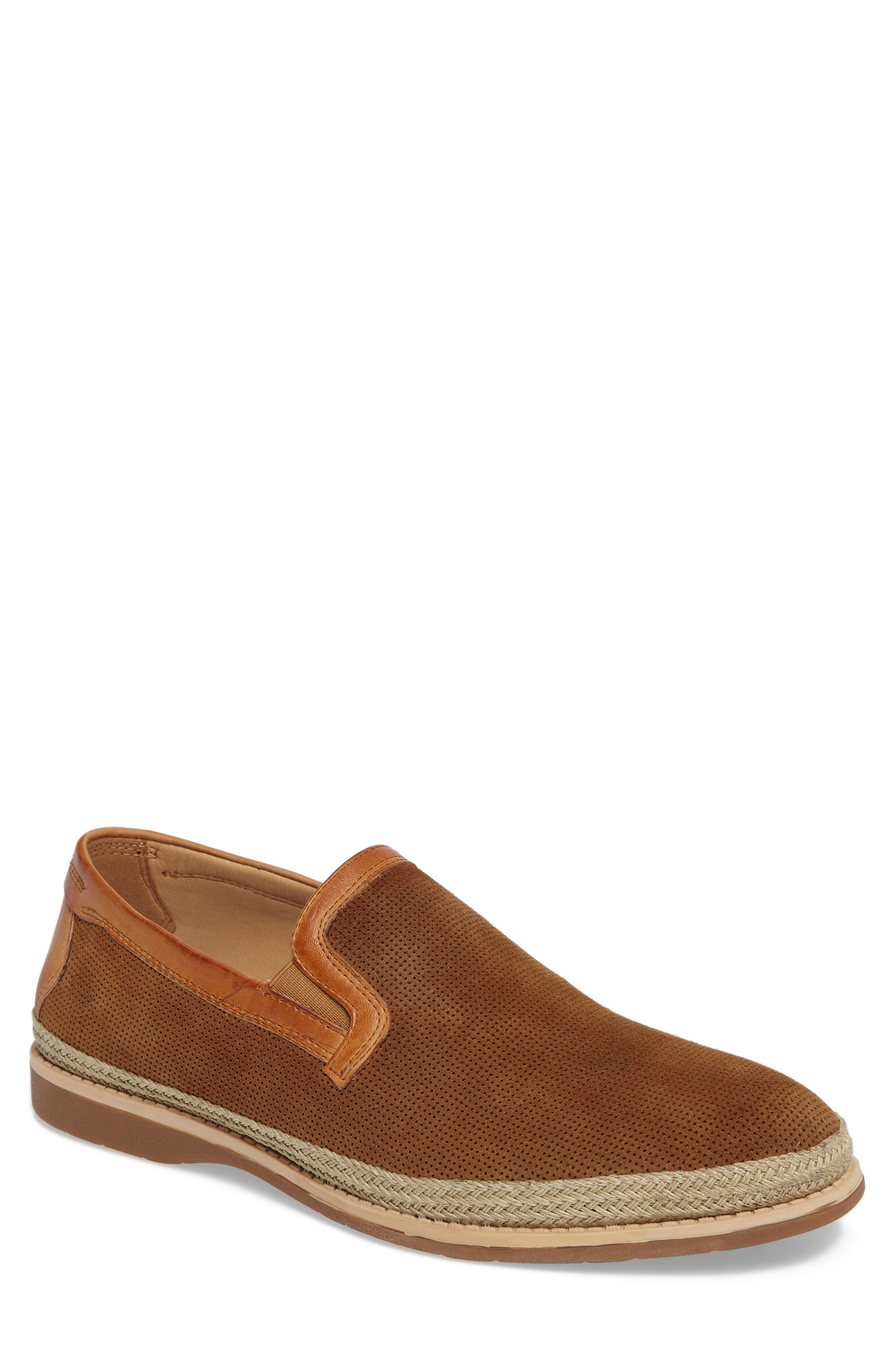 Goldhawk Slip-On,                         Main,                         color, Camel Suede