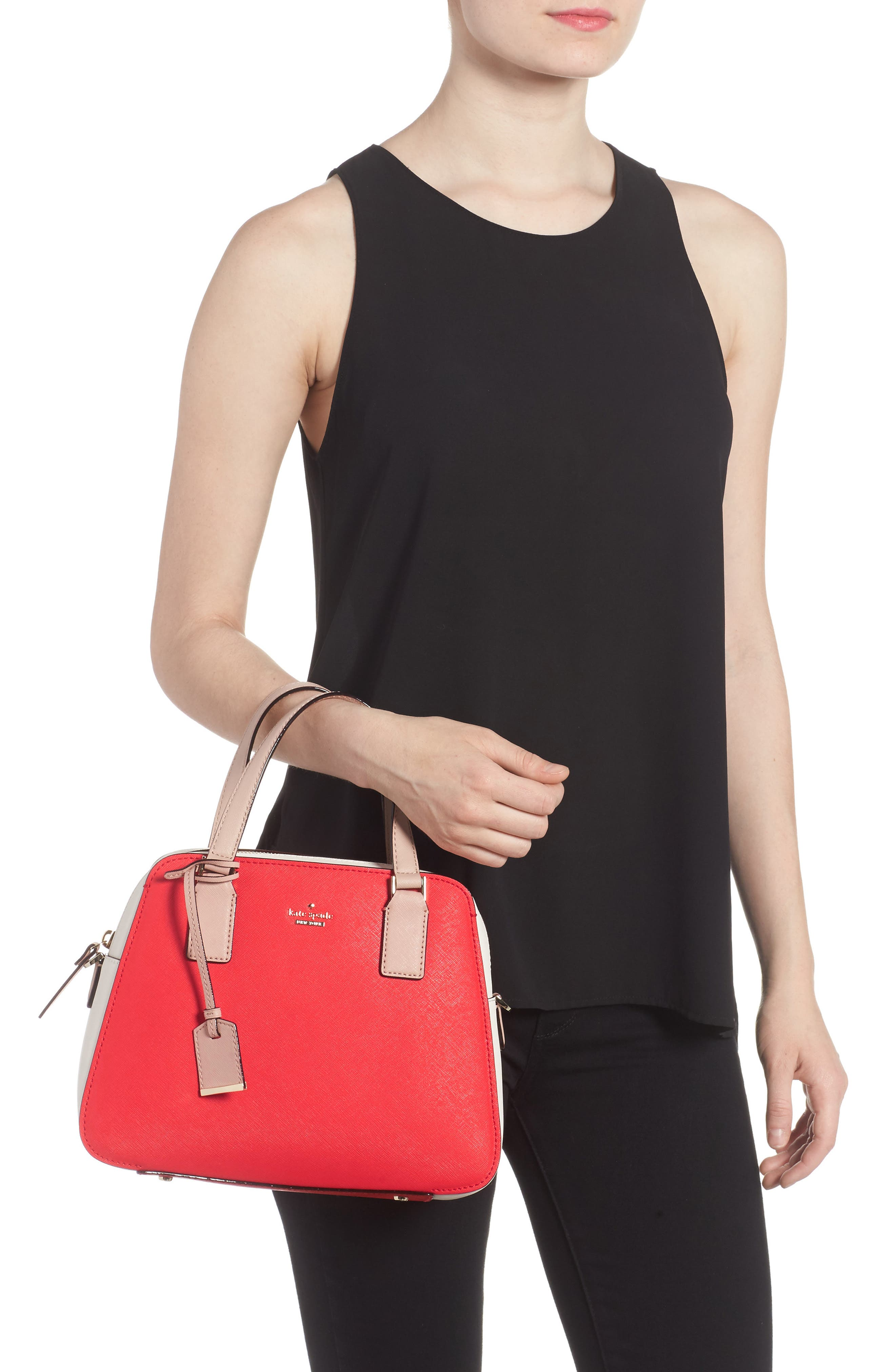 Alternate Image 2  - kate spade new york cameron street - little babe leather satchel