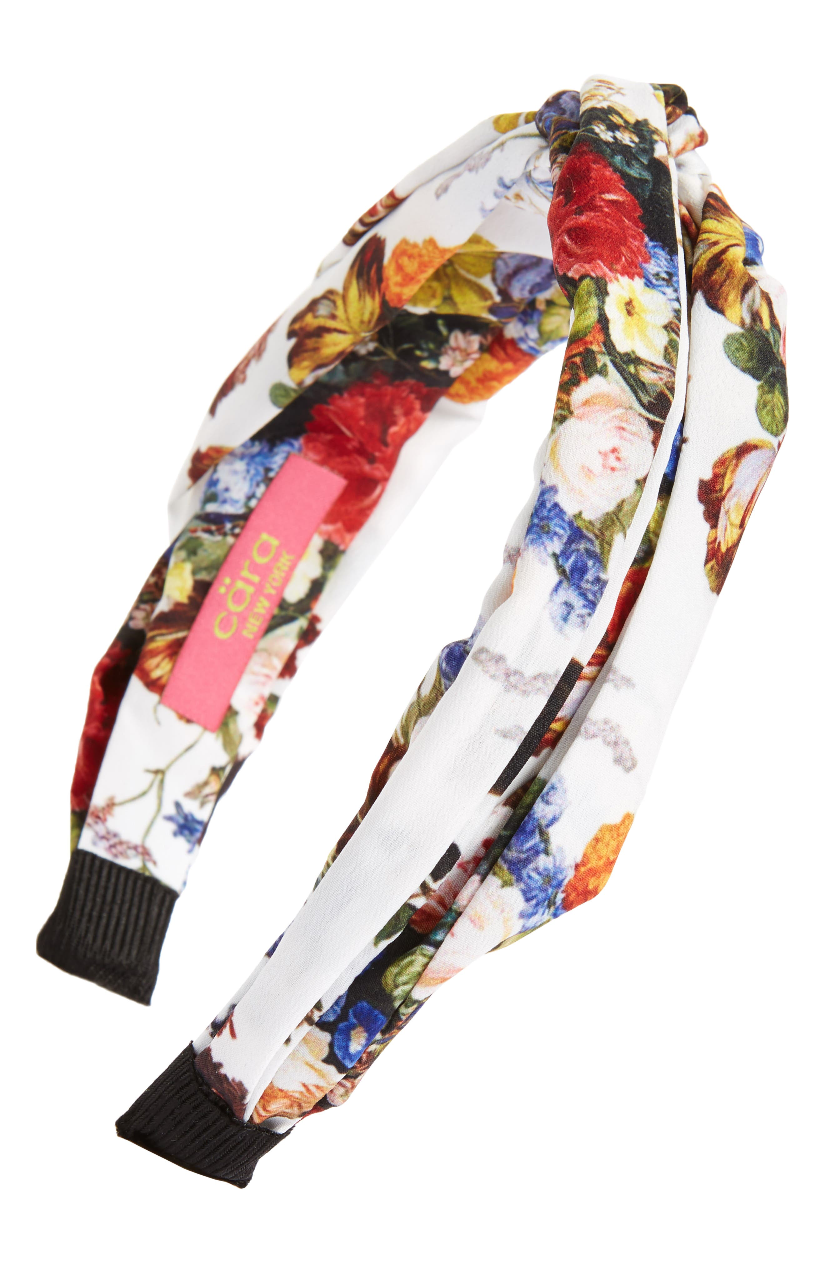 Alternate Image 1 Selected - Cara Floral Knot Head Wrap