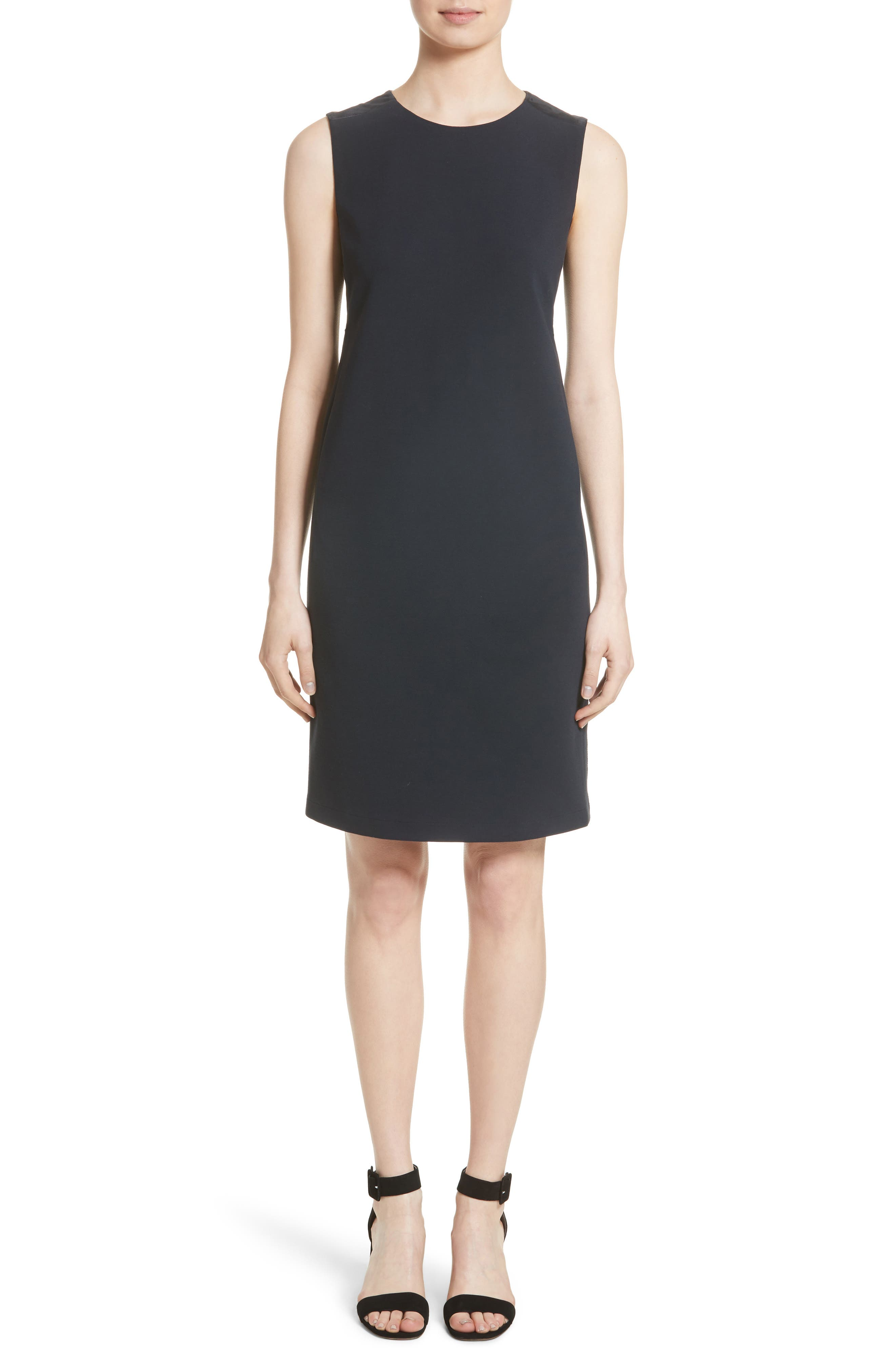 Lafayette 148 New York Combo Shift Dress (Nordstrom Exclusive)