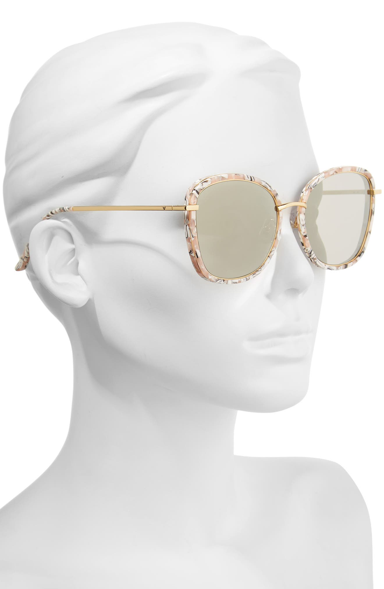 Alternate Image 2  - Gentle Monster Switch Back 58mm Rounded Sunglasses
