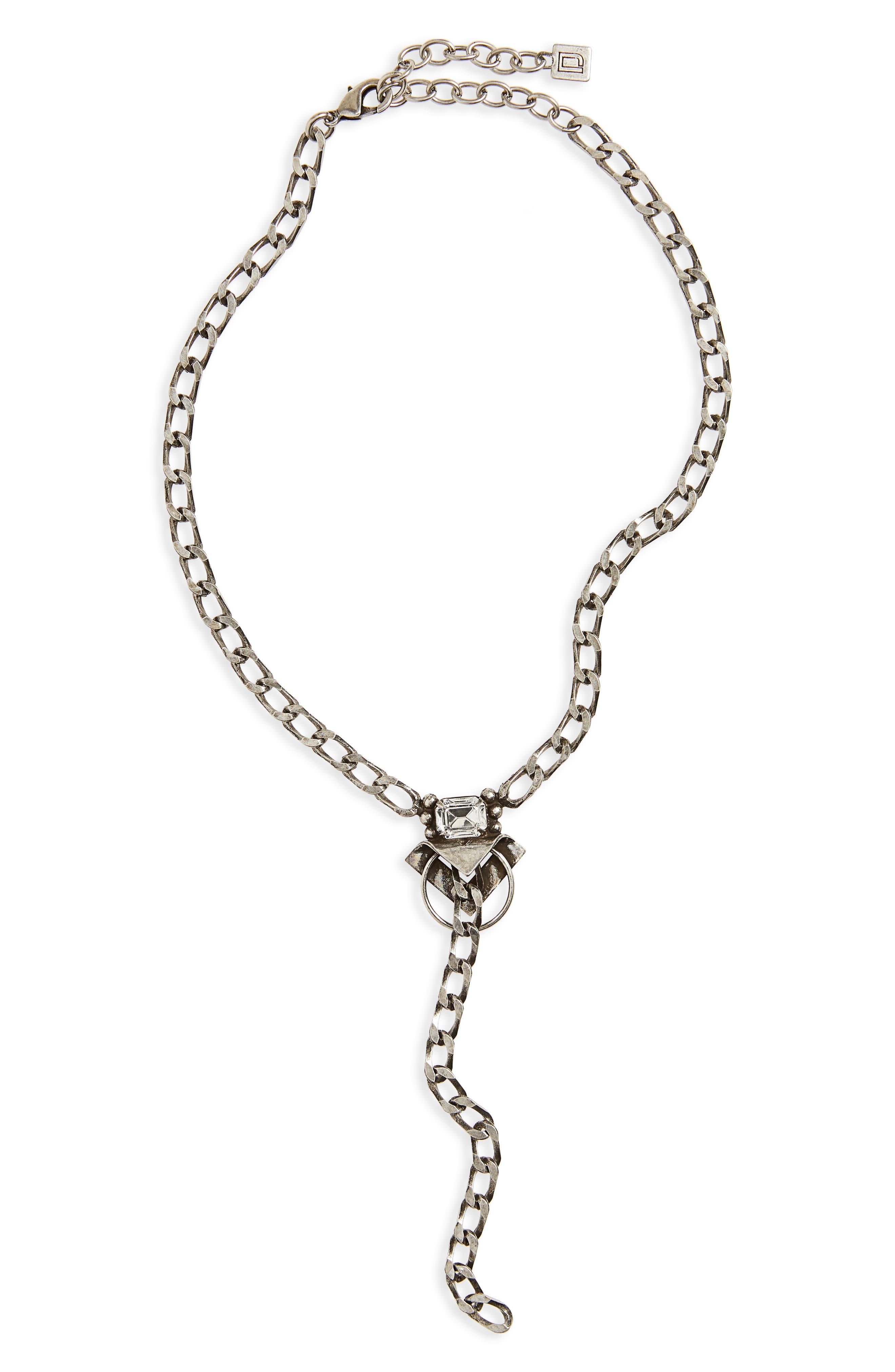 DANNIJO Cadanet Chain Y-Necklace