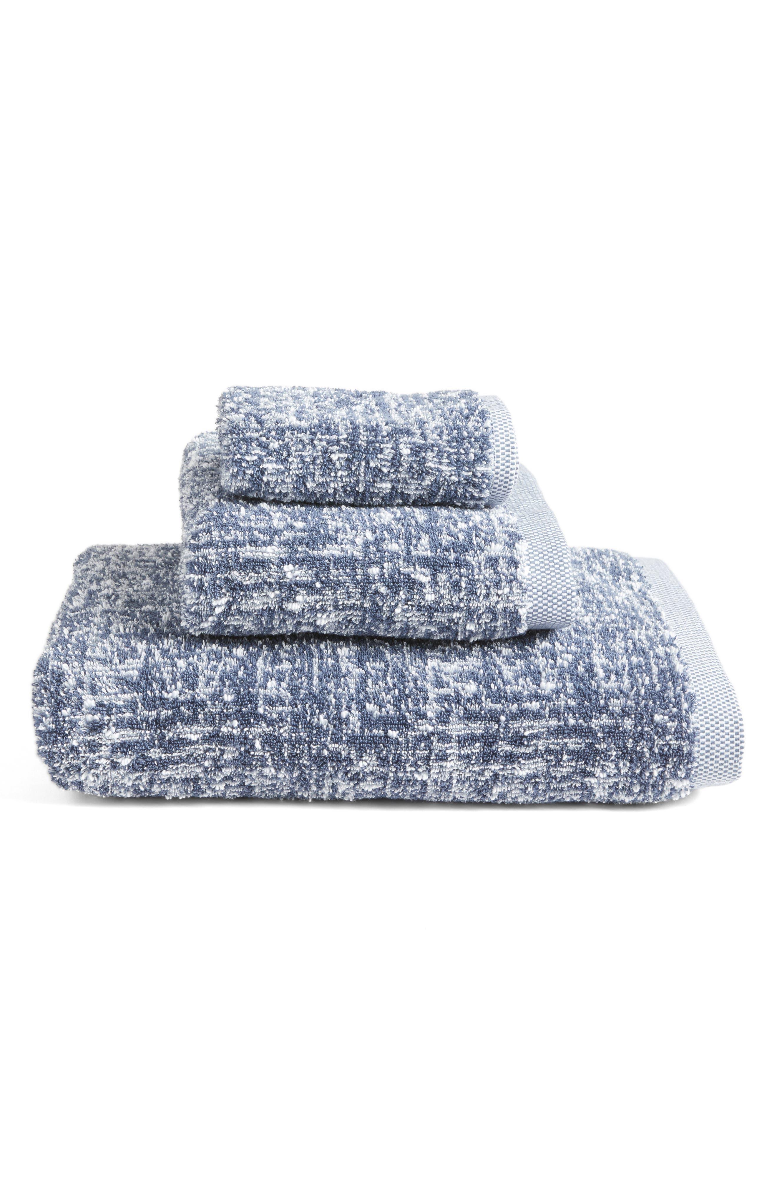 Alternate Image 3  - Nordstrom at Home Tweed Jacquard Hand Towel