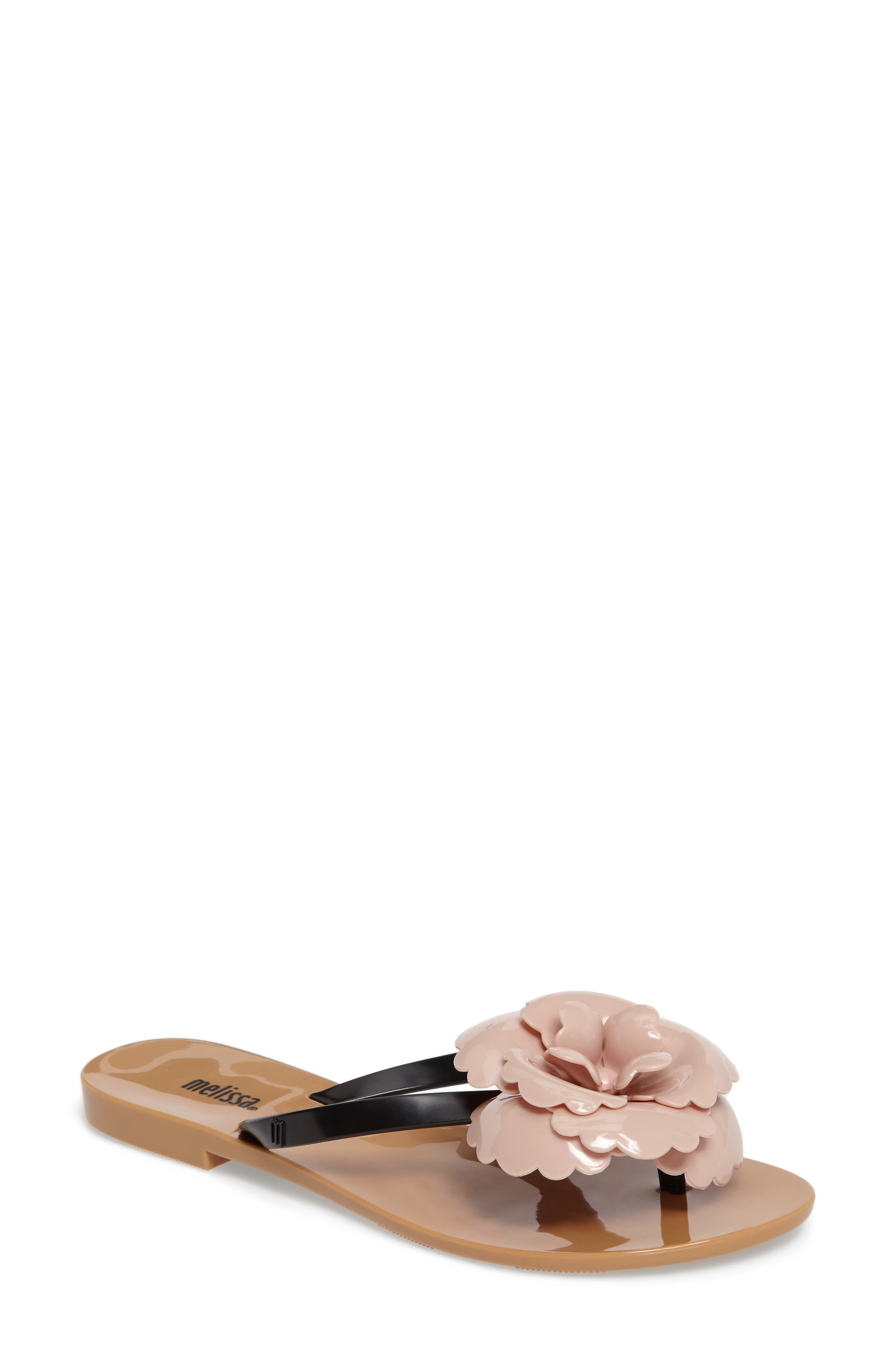 Main Image - Melissa Harmonic Flower Flip Flop (Women)