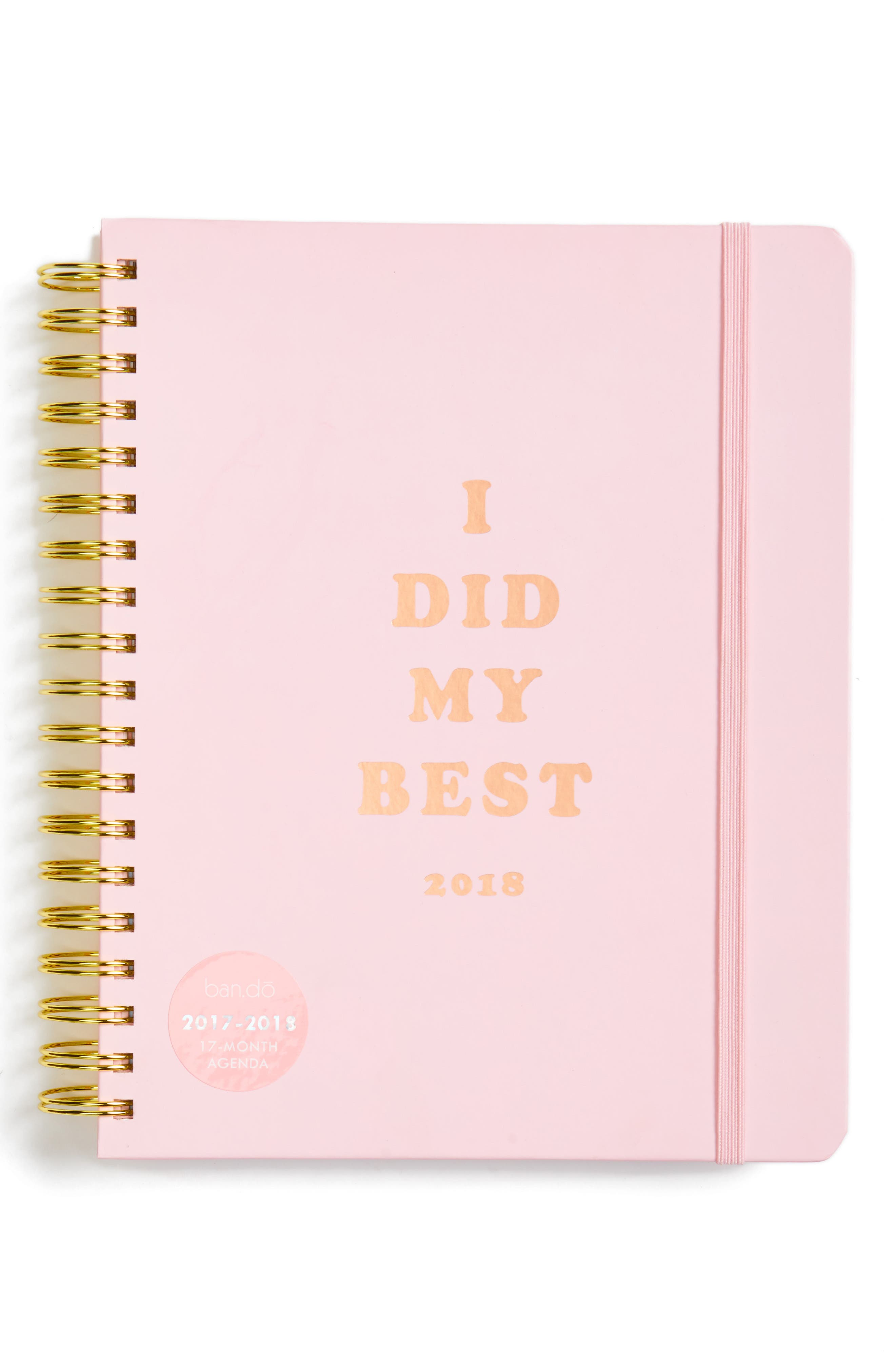 ban.do I Did My Best Large 17-Month Planner