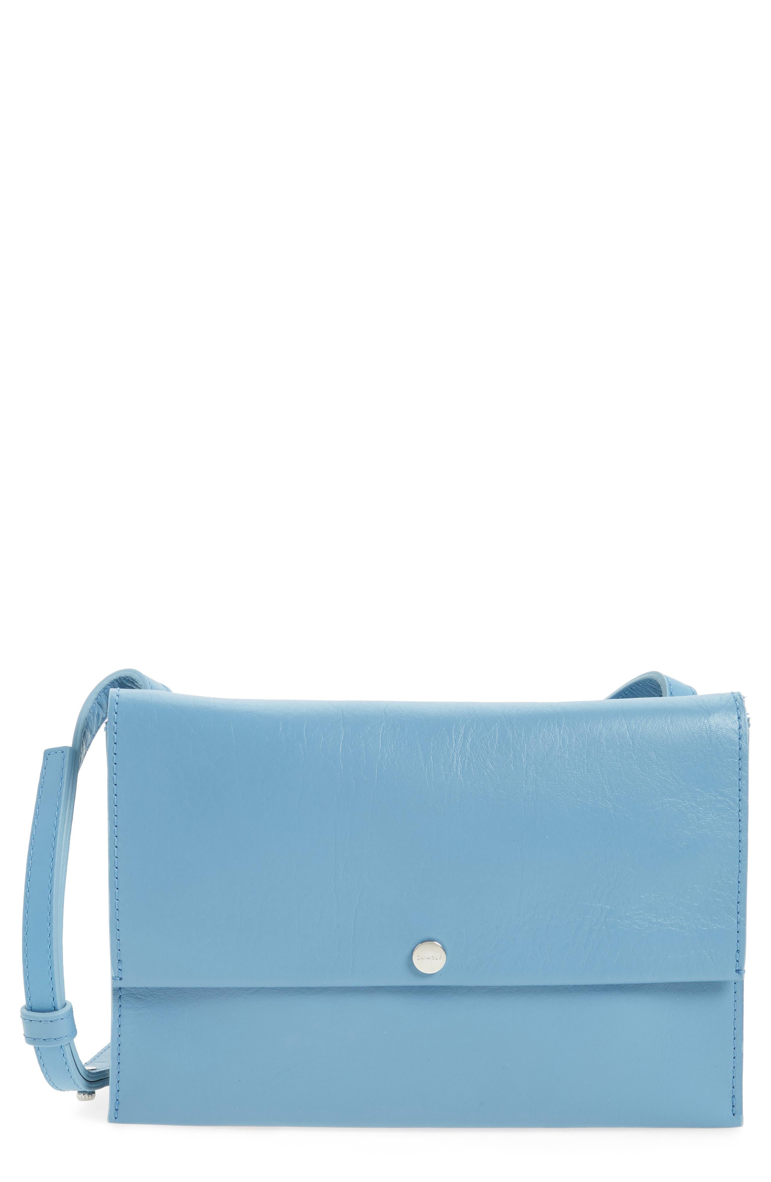 SHINOLA Crossbody Leather Bag