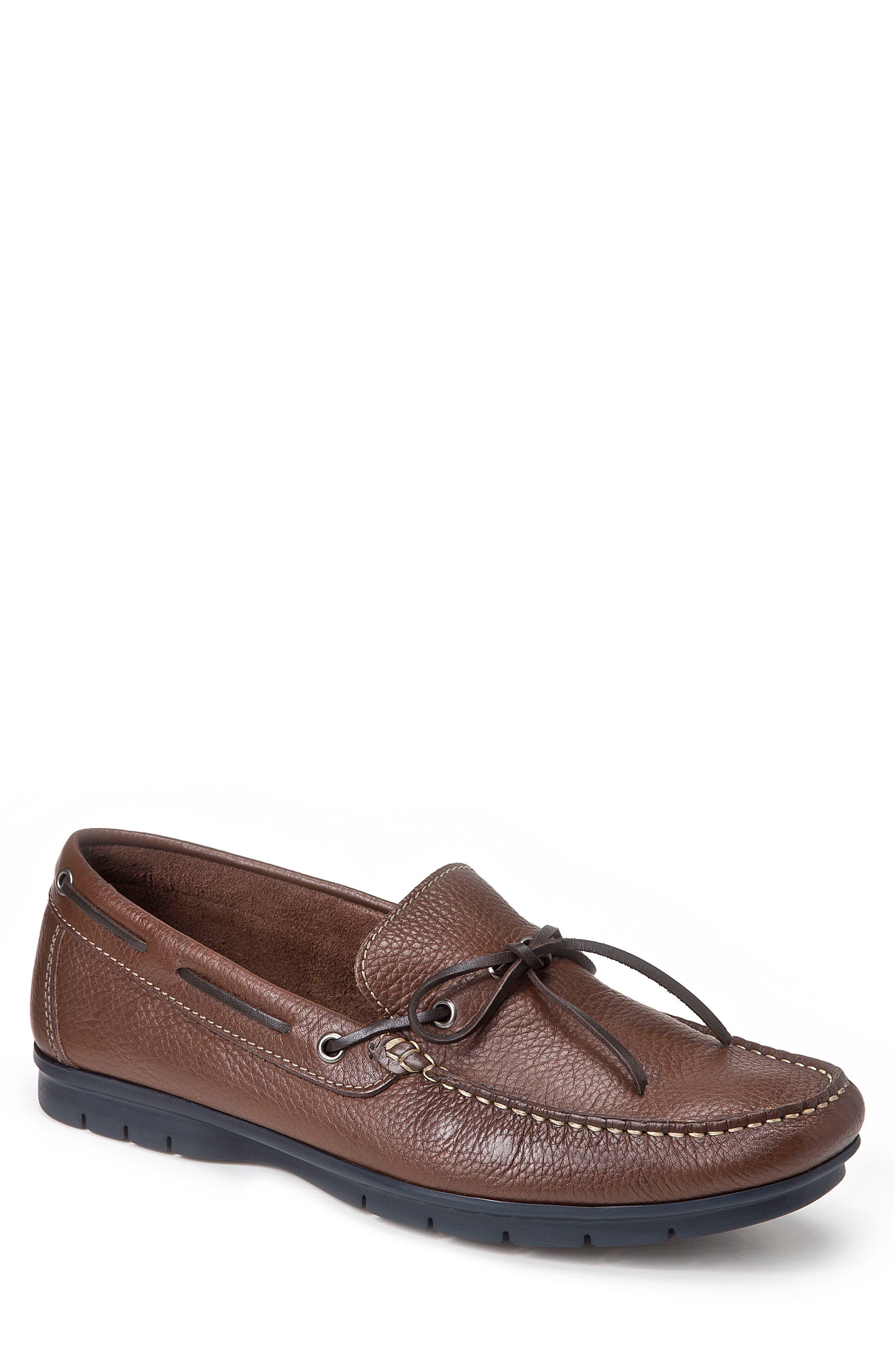 SANDRO MOSCOLONI Ribalto Boat Shoe
