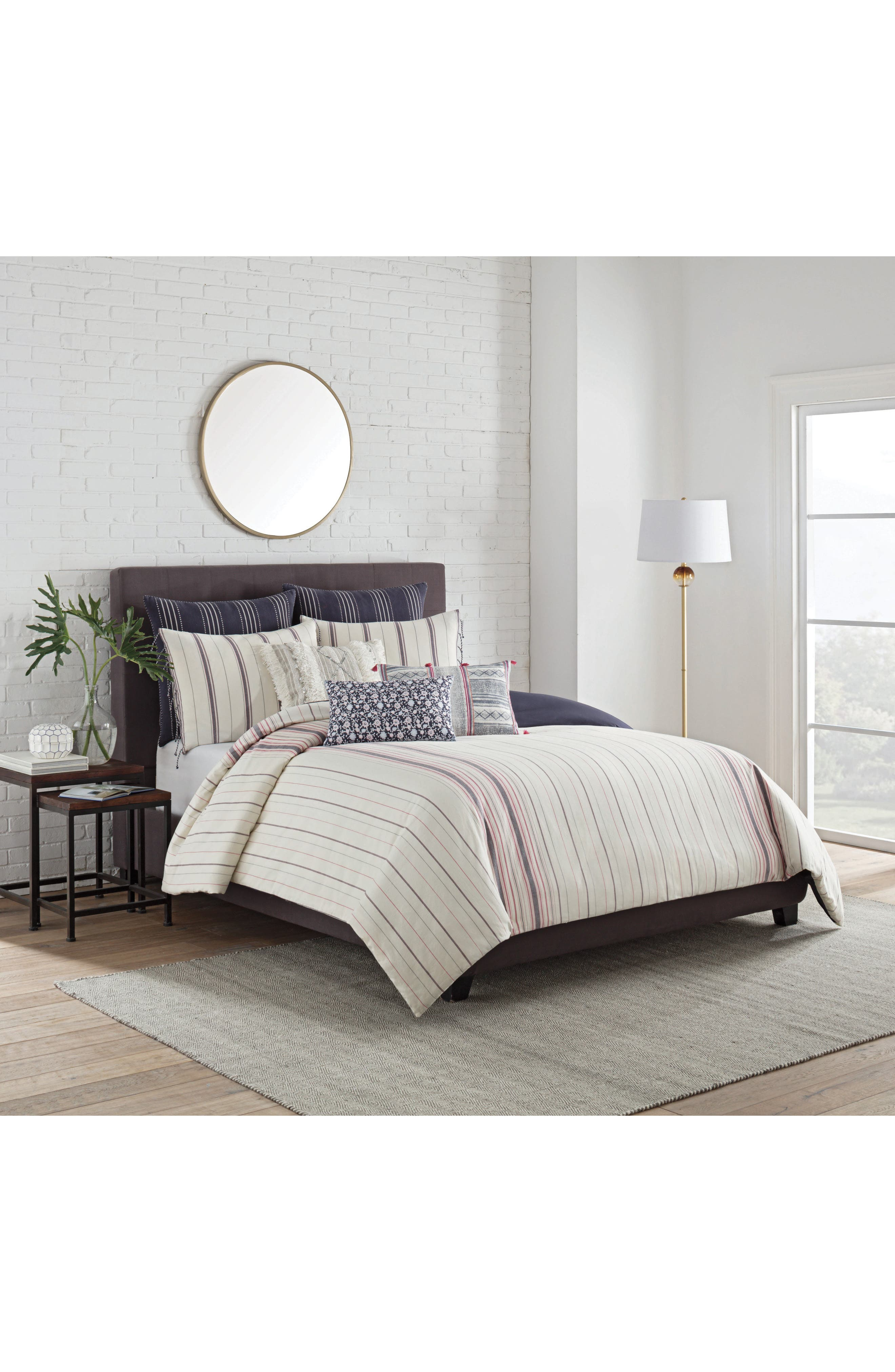 cupcakes and cashmere Mixed Stripe Bedding Collection