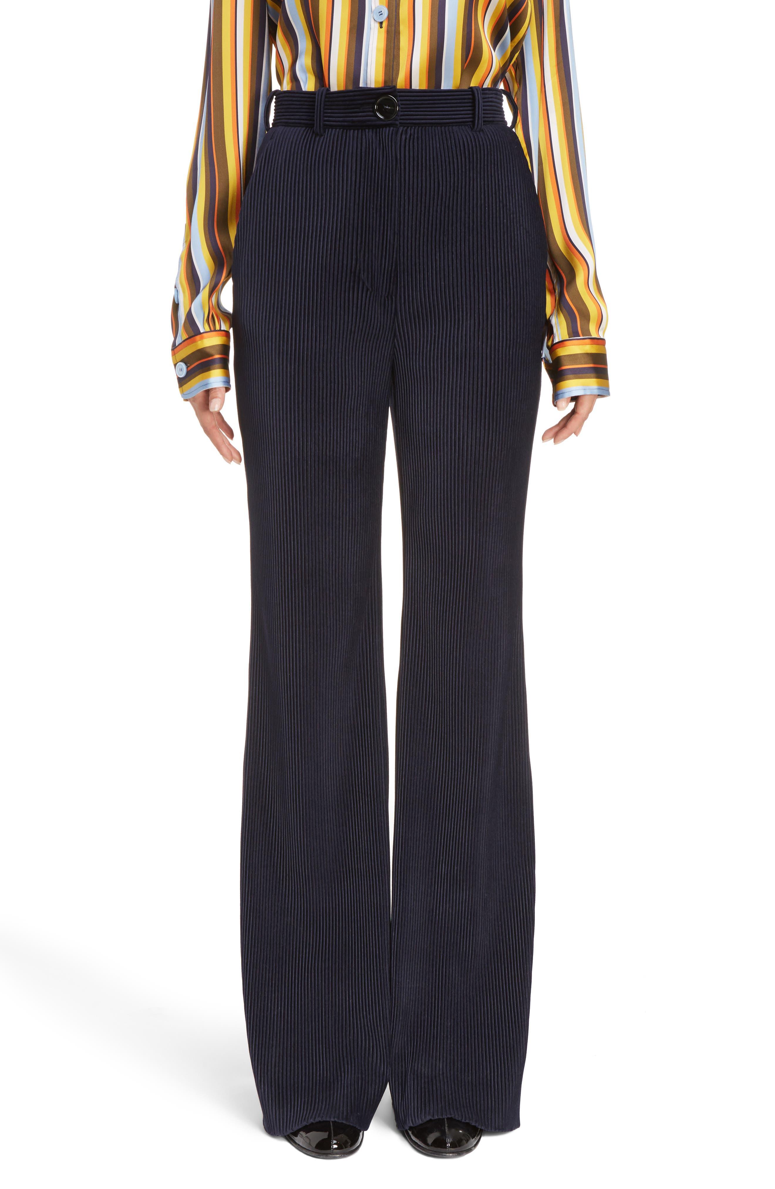 ACNE Studios Tessel Wide Leg Corduroy Pants