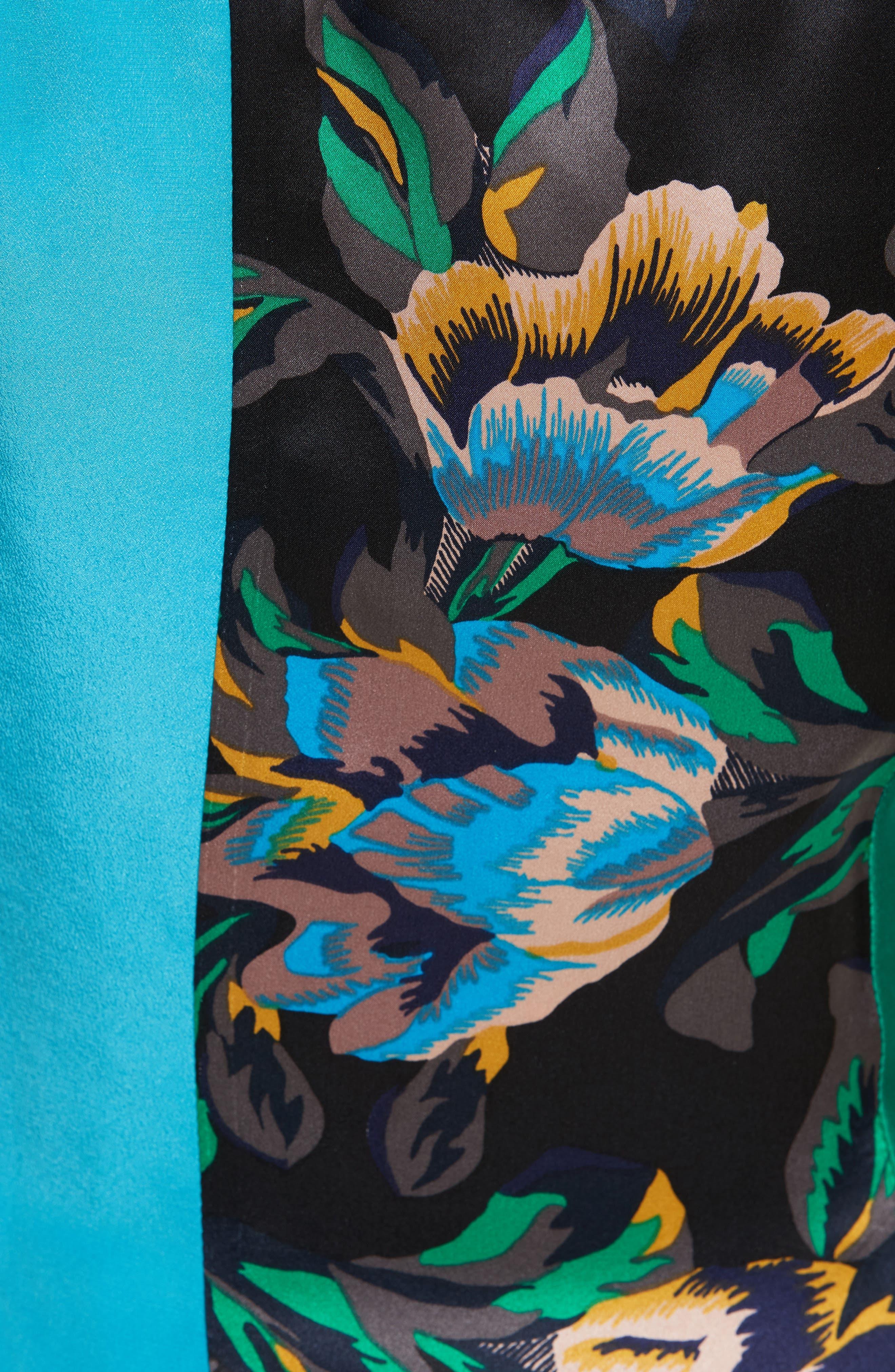 Alternate Image 5  - Diane von Furstenberg Double Layer Silk Maxi Dress