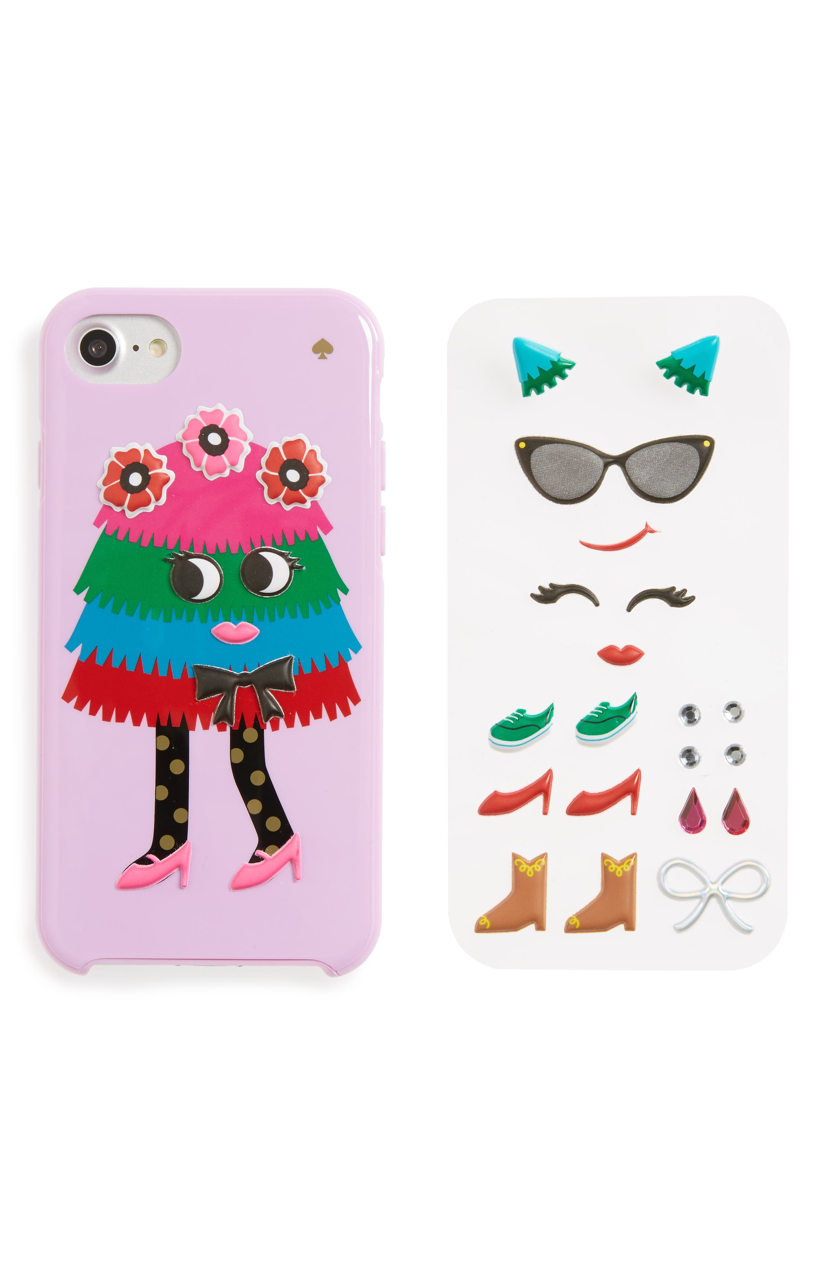 Alternate Image 3  - kate spade new york make your own piñata iPhone 7/8 case