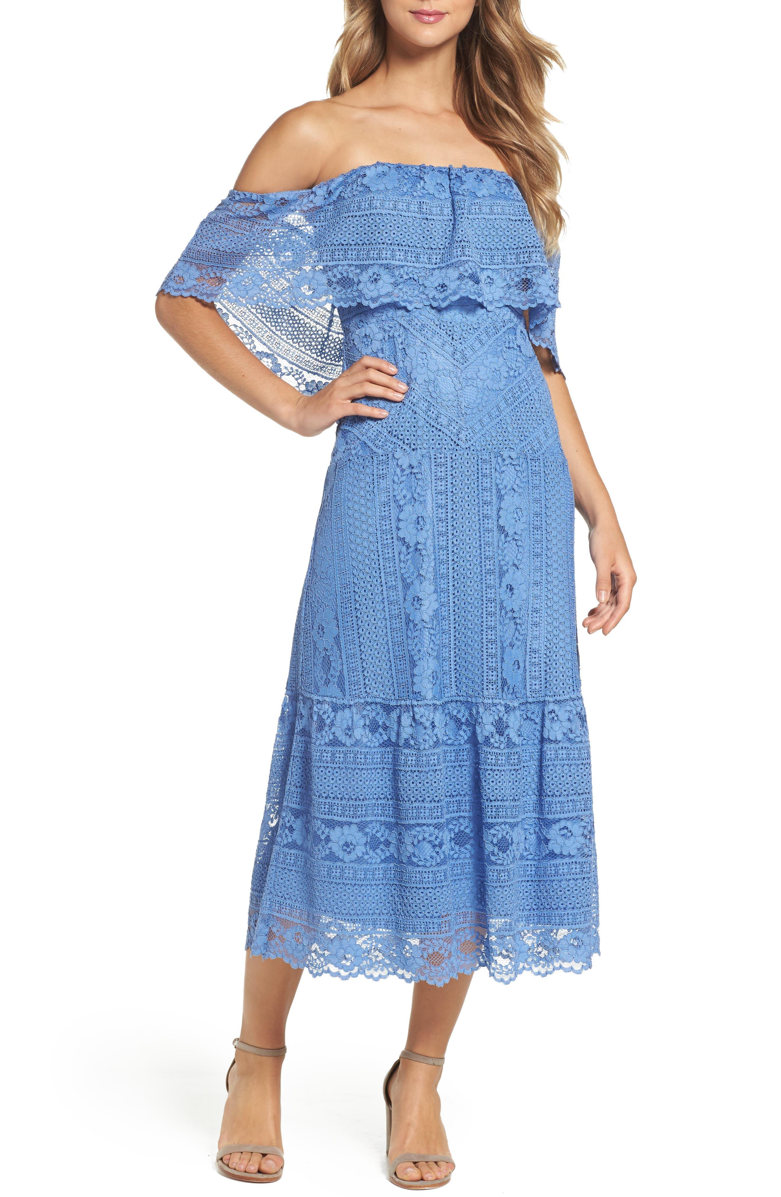 Alternate Image 1 Selected - BB Dakota Katie Lace Midi Dress