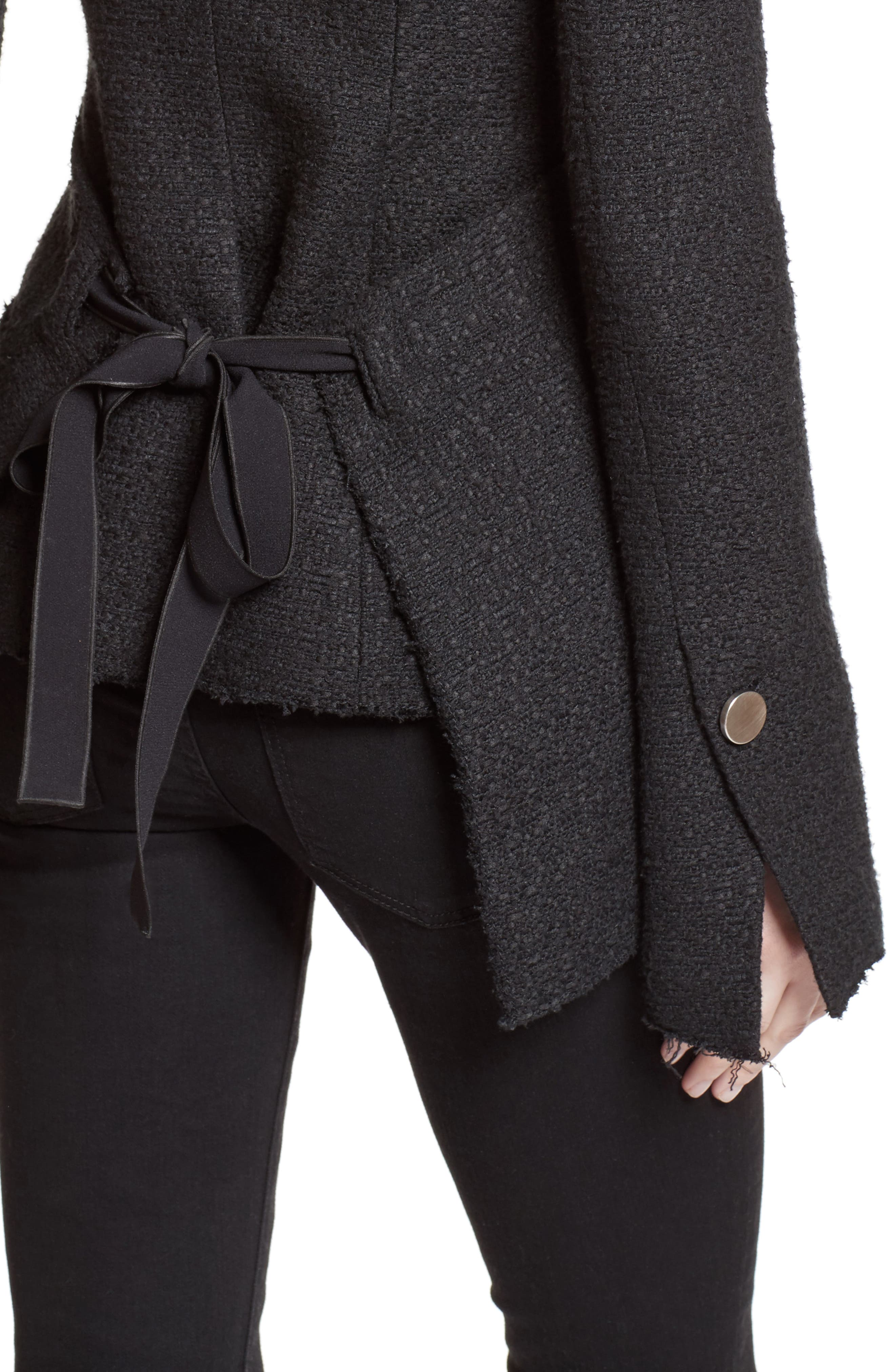 Alternate Image 6  - Proenza Schouler Asymmetrical Tweed Jacket