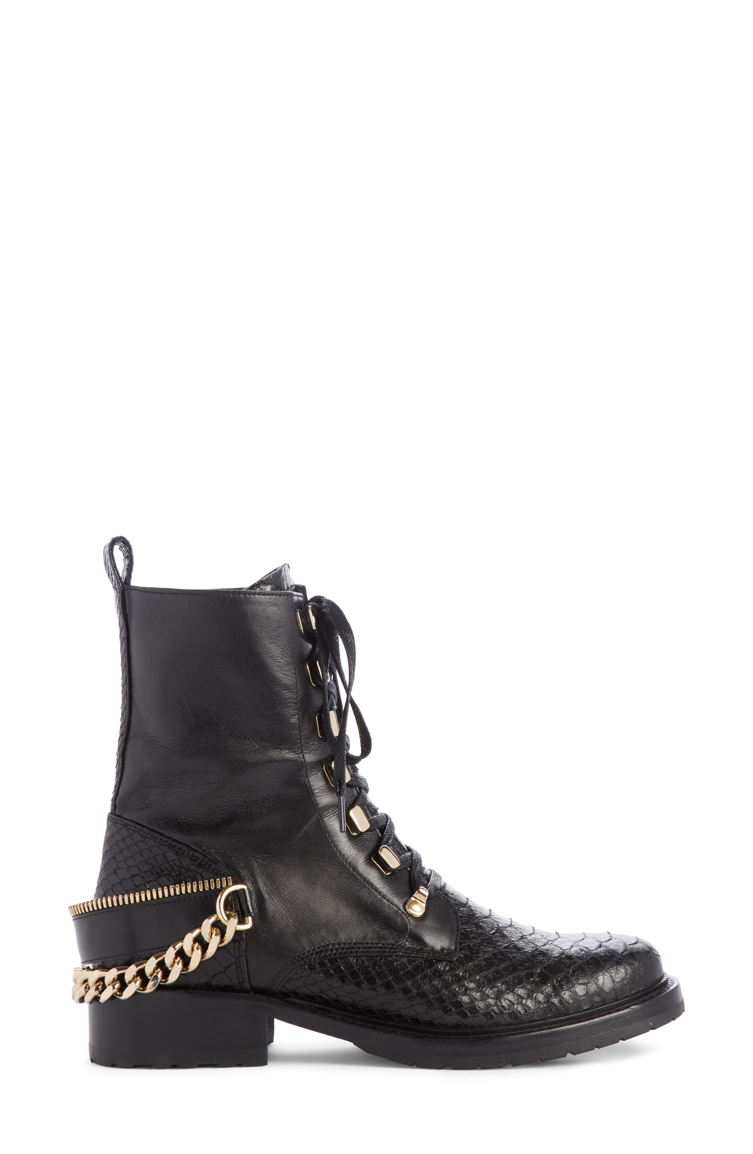 Alternate Image 4  - Lanvin Chain Biker Boot (Women)