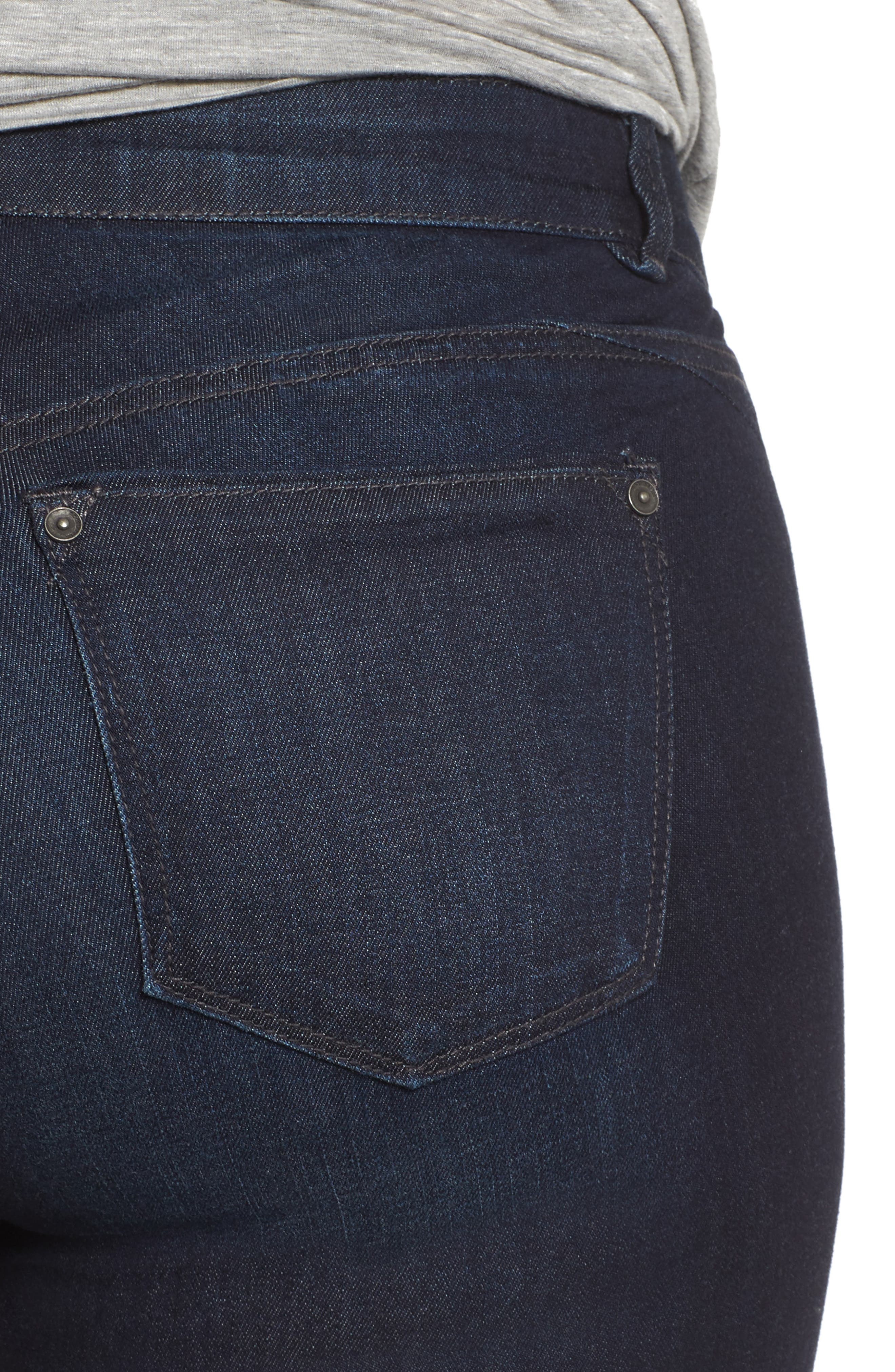 Alternate Image 4  - Wit & Wisdom Ab-solution Ankle Skimmer Jeans (Plus Size) (Nordstrom Exclusive)