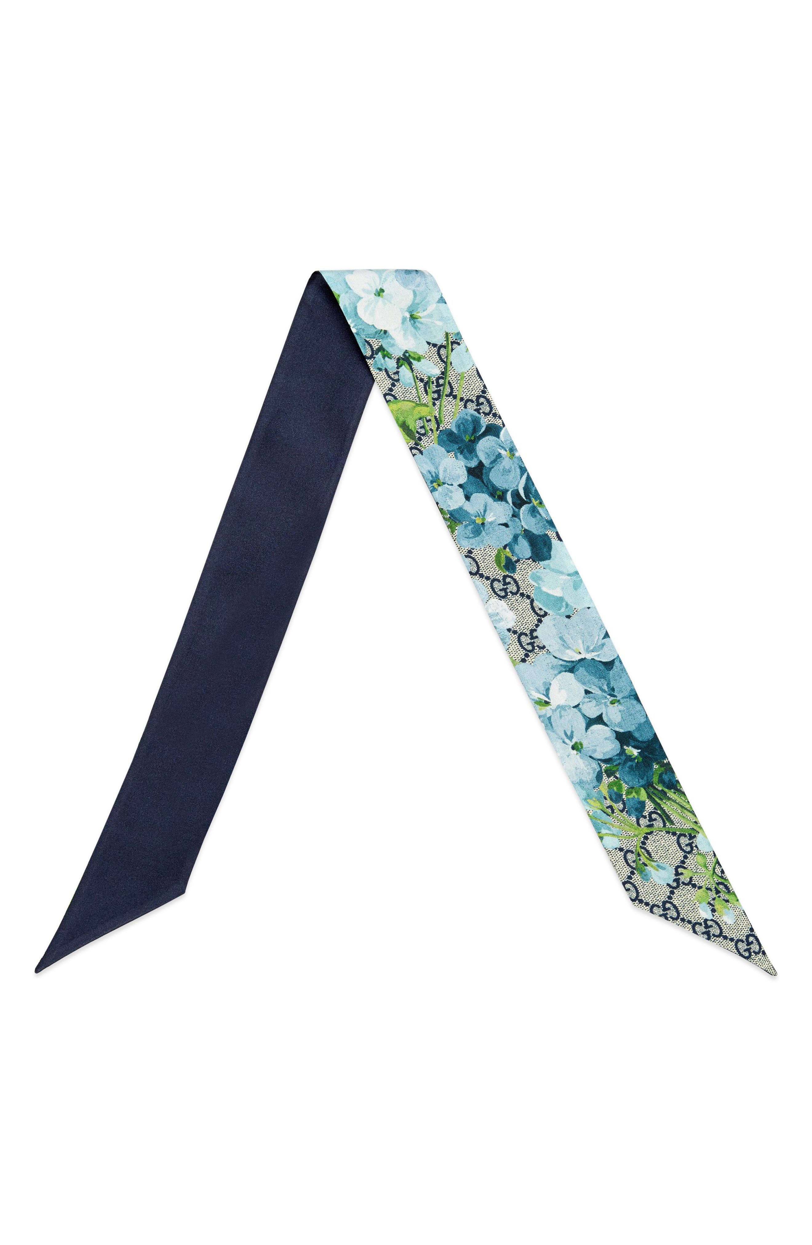 Alternate Image 2  - Gucci GG Blooms Skinny Scarf