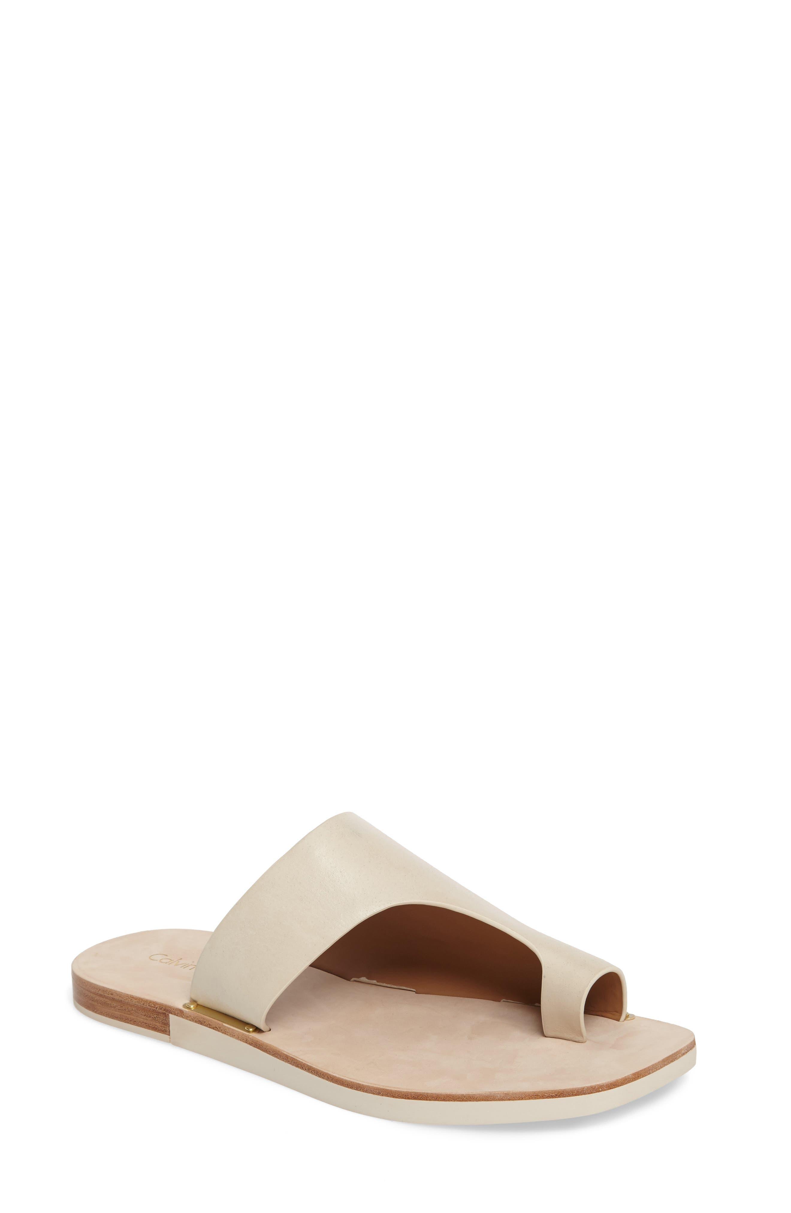 Calvin Klein Rinona Toe Loop Sandal (Women)