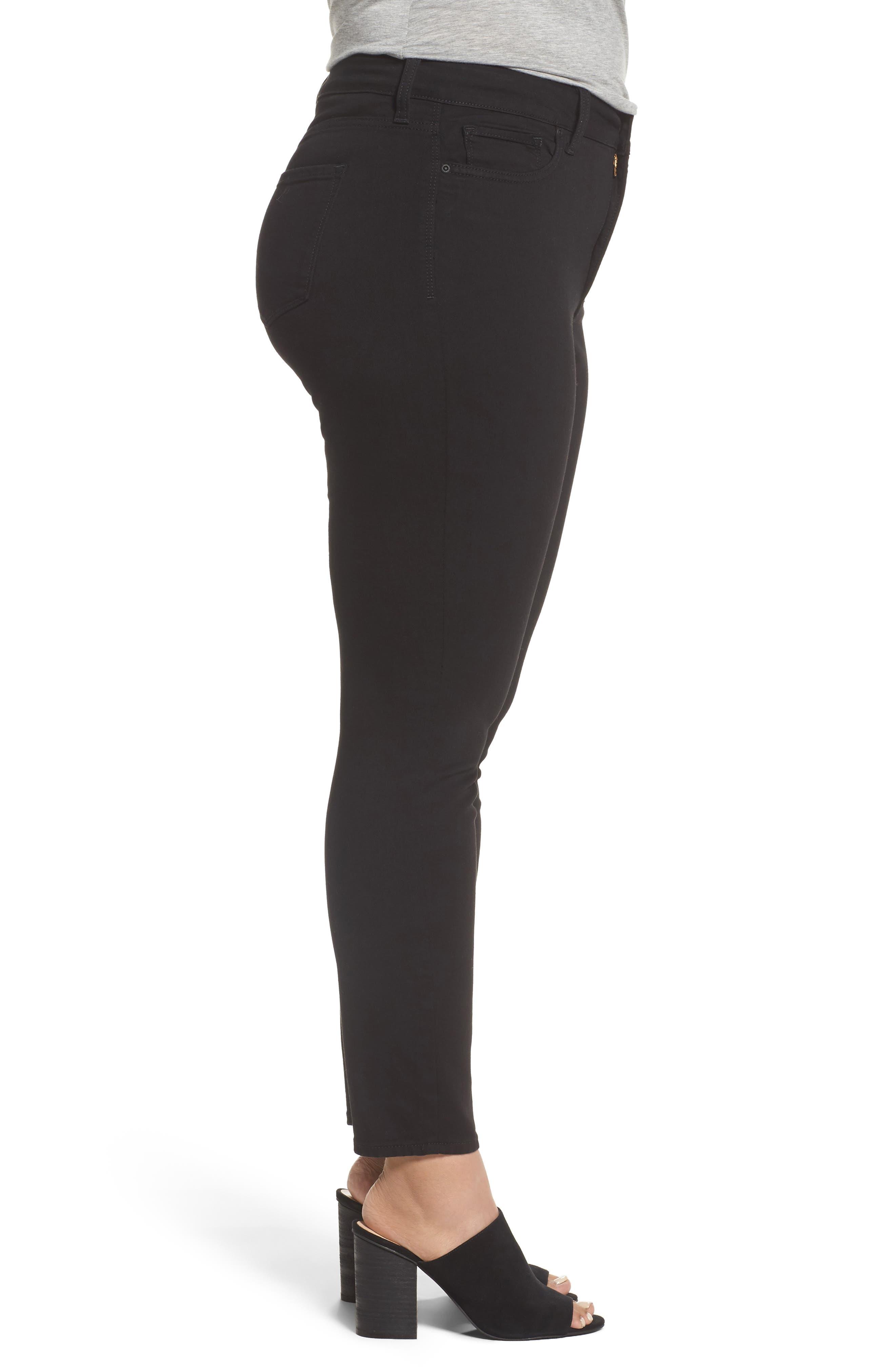 Alternate Image 3  - NYDJ Ami Stretch Skinny Jeans (Plus Size)