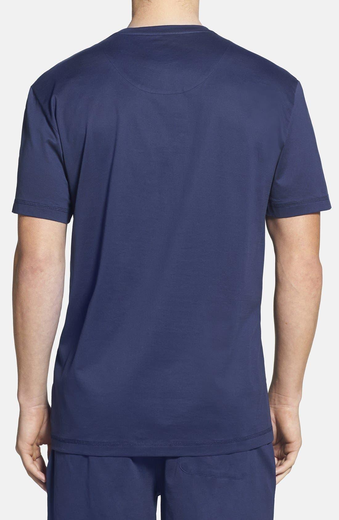 Alternate Image 2  - Majestic International 'Down Time' Crewneck T-Shirt