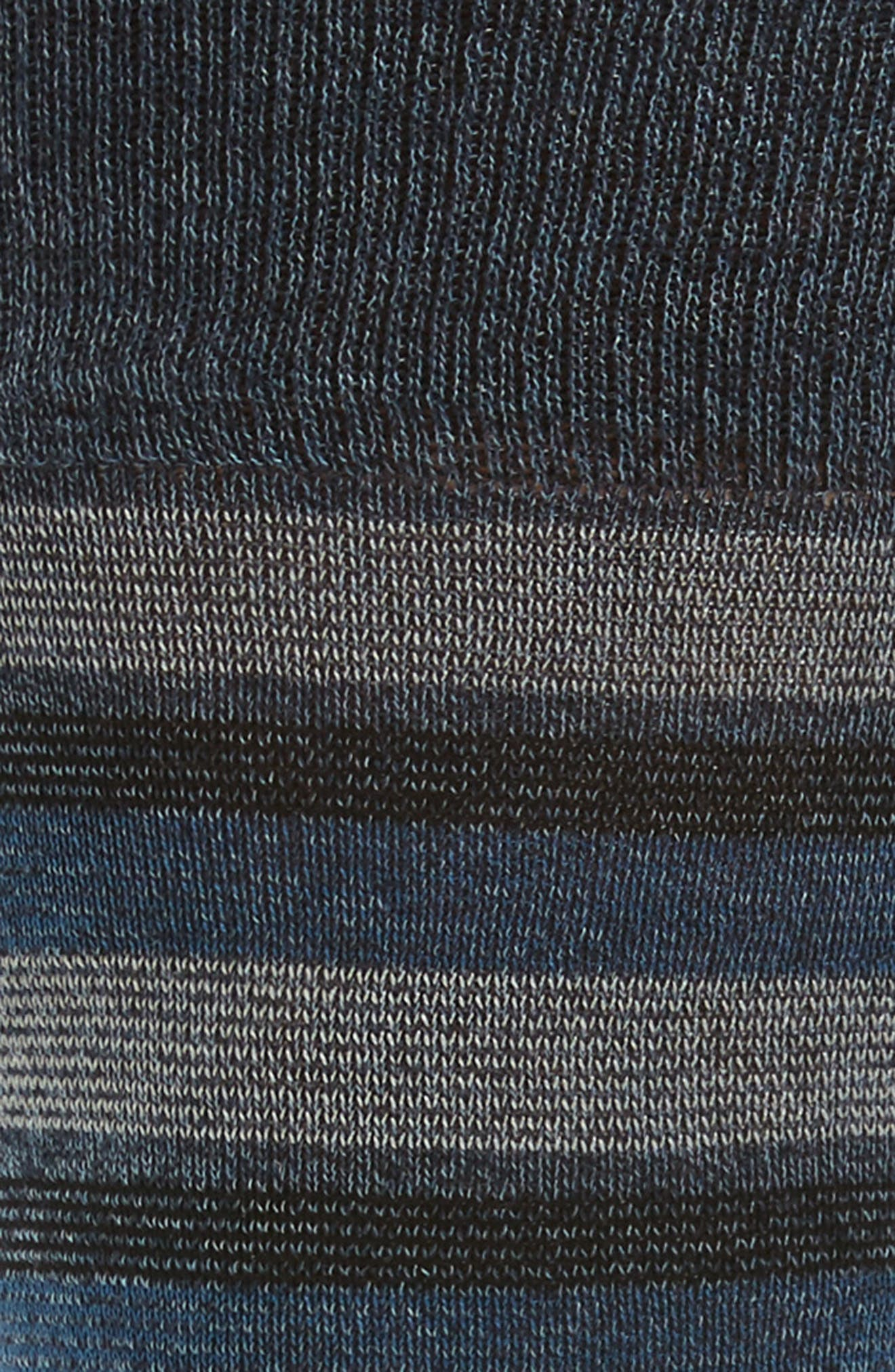 Stripe Socks,                             Alternate thumbnail 2, color,                             Steel