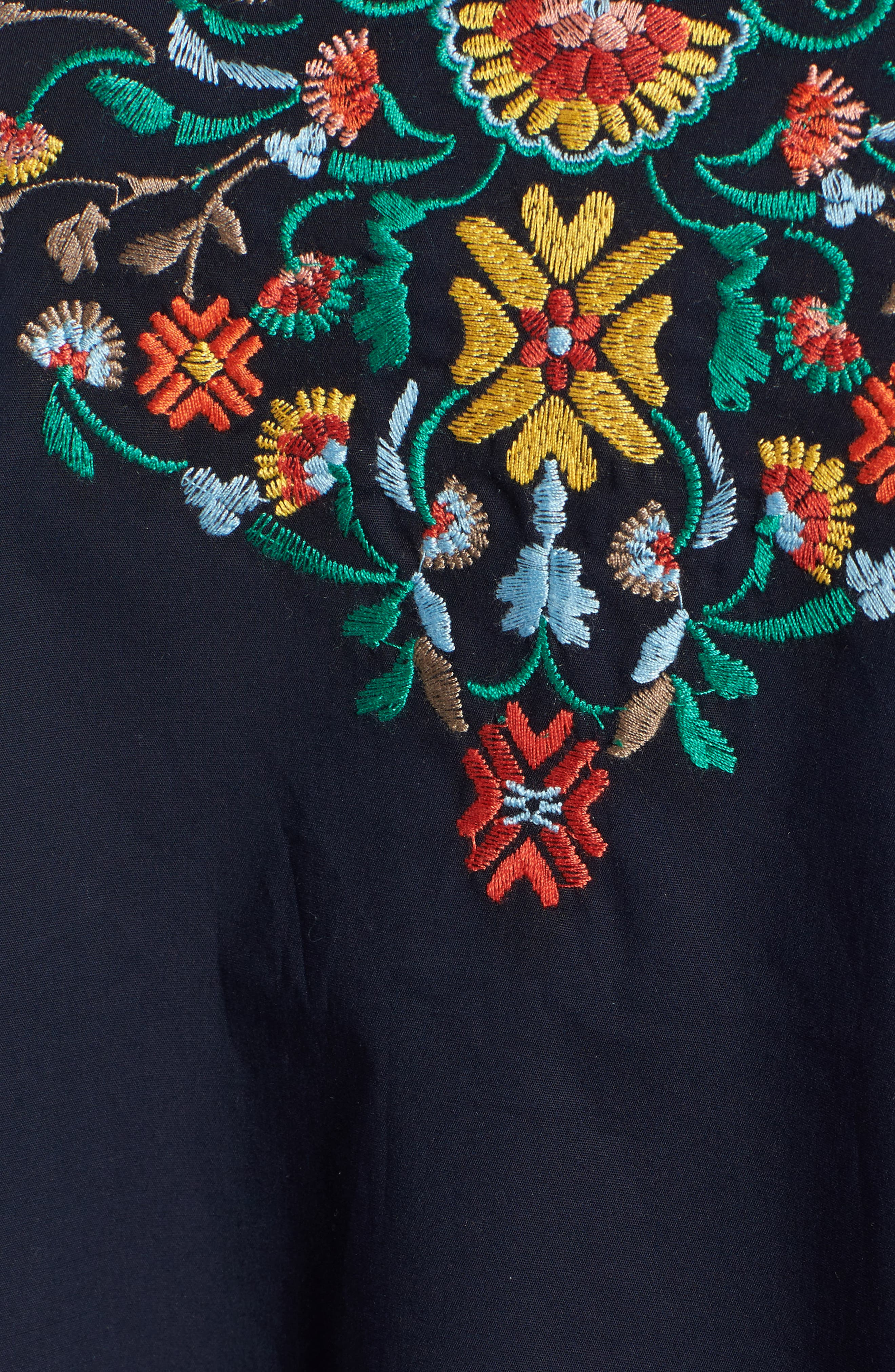 Alternate Image 5  - Wit & Wisdom Embroidered Off the Shoulder Top (Nordstrom Exclusive)