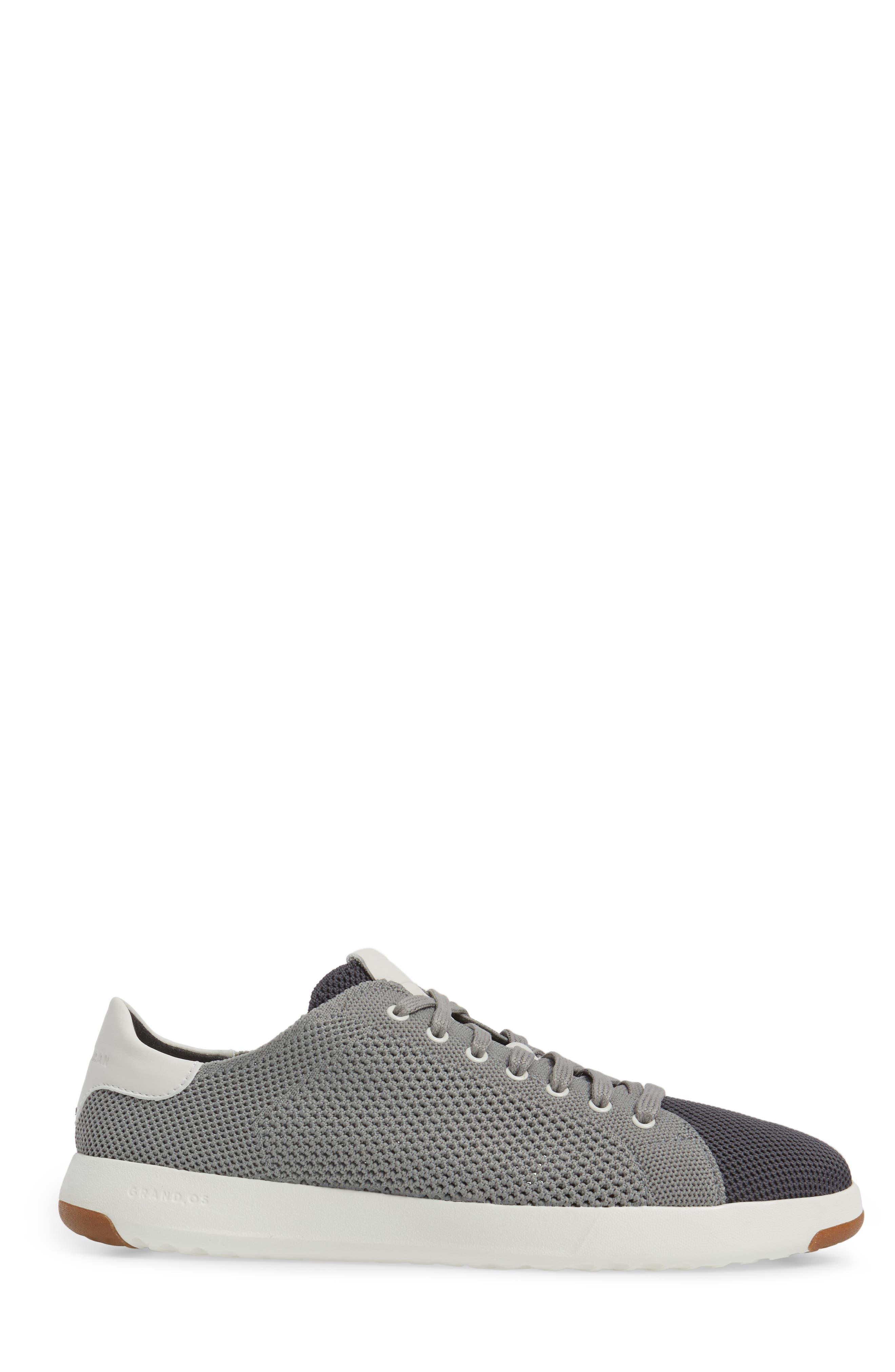 GrandPrø Stitchlite Tennis Sneaker,                             Alternate thumbnail 3, color,                             Magnet Grey Fabric