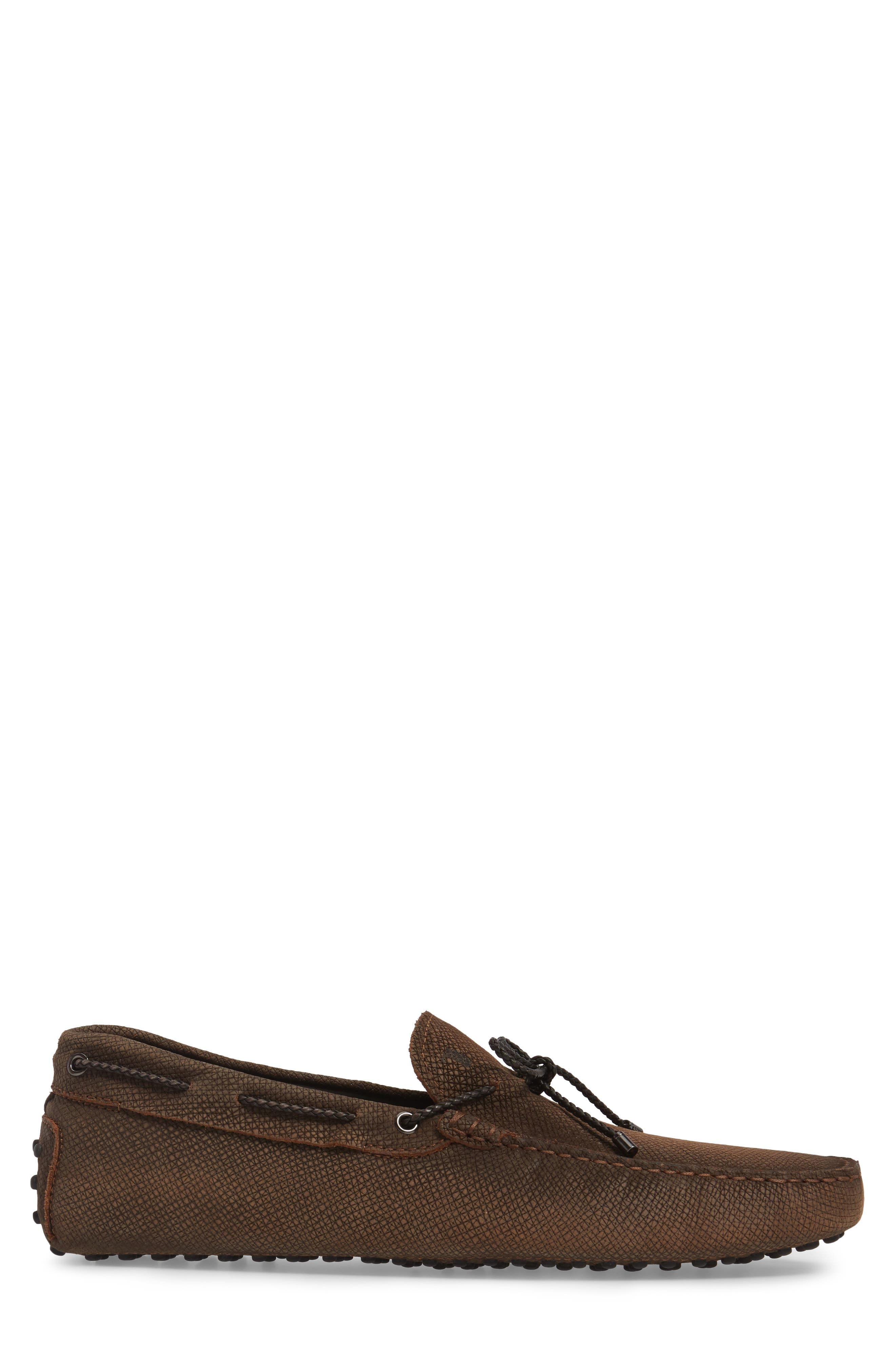 Alternate Image 3  - Tod's Gommin Textured Driving Shoe (Men)
