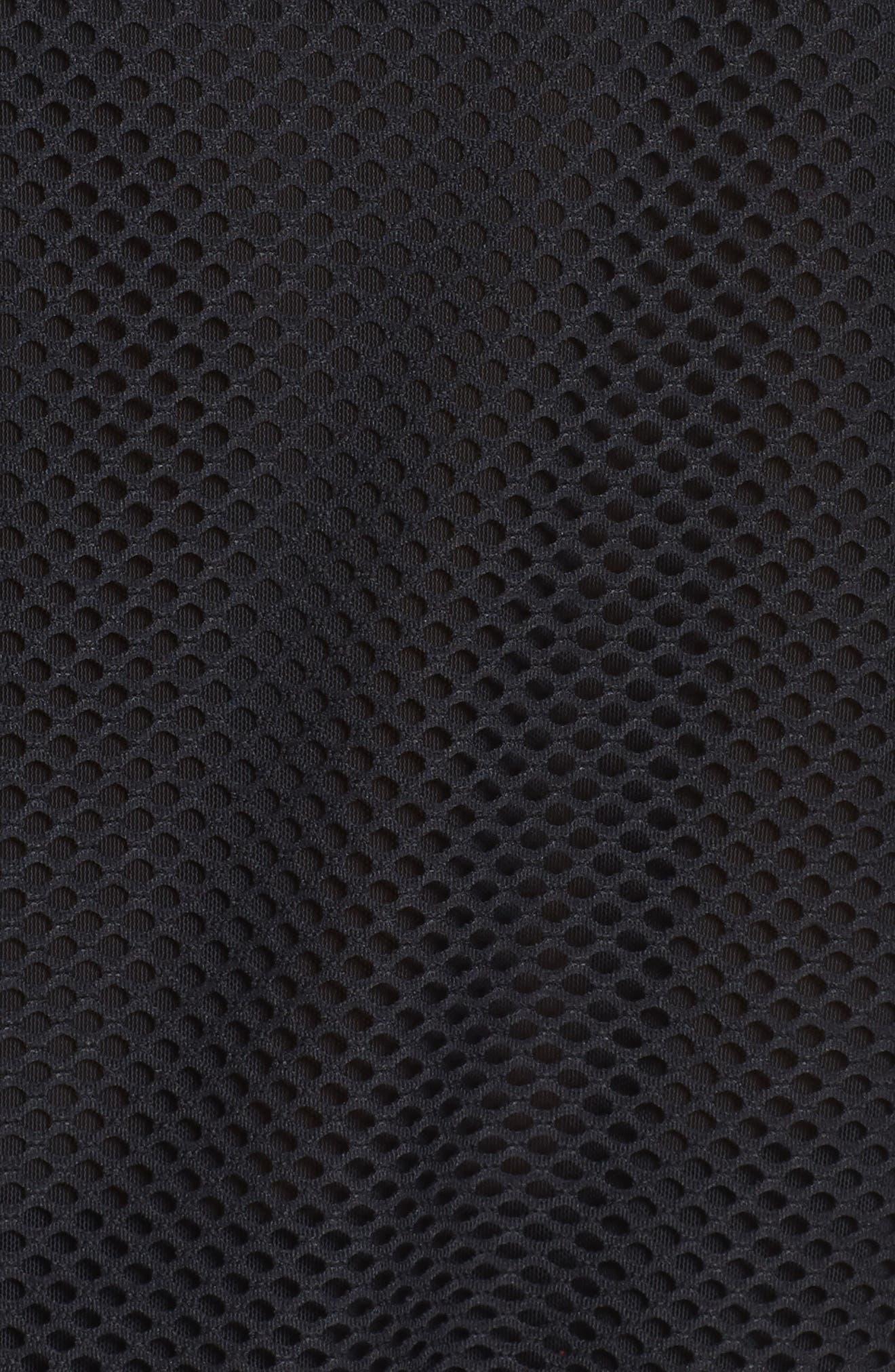 Sofia Crop Pullover,                             Alternate thumbnail 6, color,                             Black