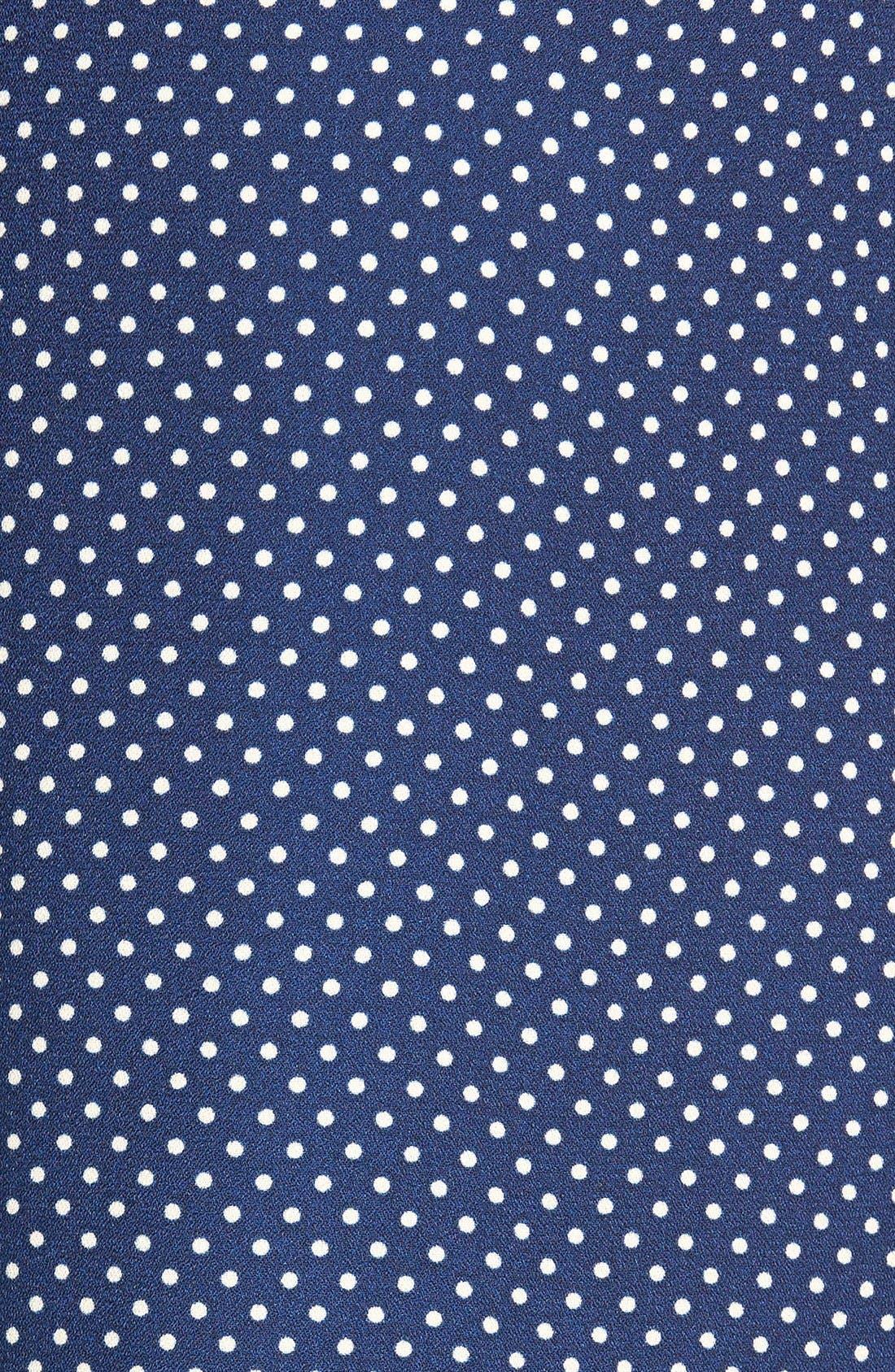 Alternate Image 3  - Socialite Print Tie Front Palazzo Pants (Juniors)