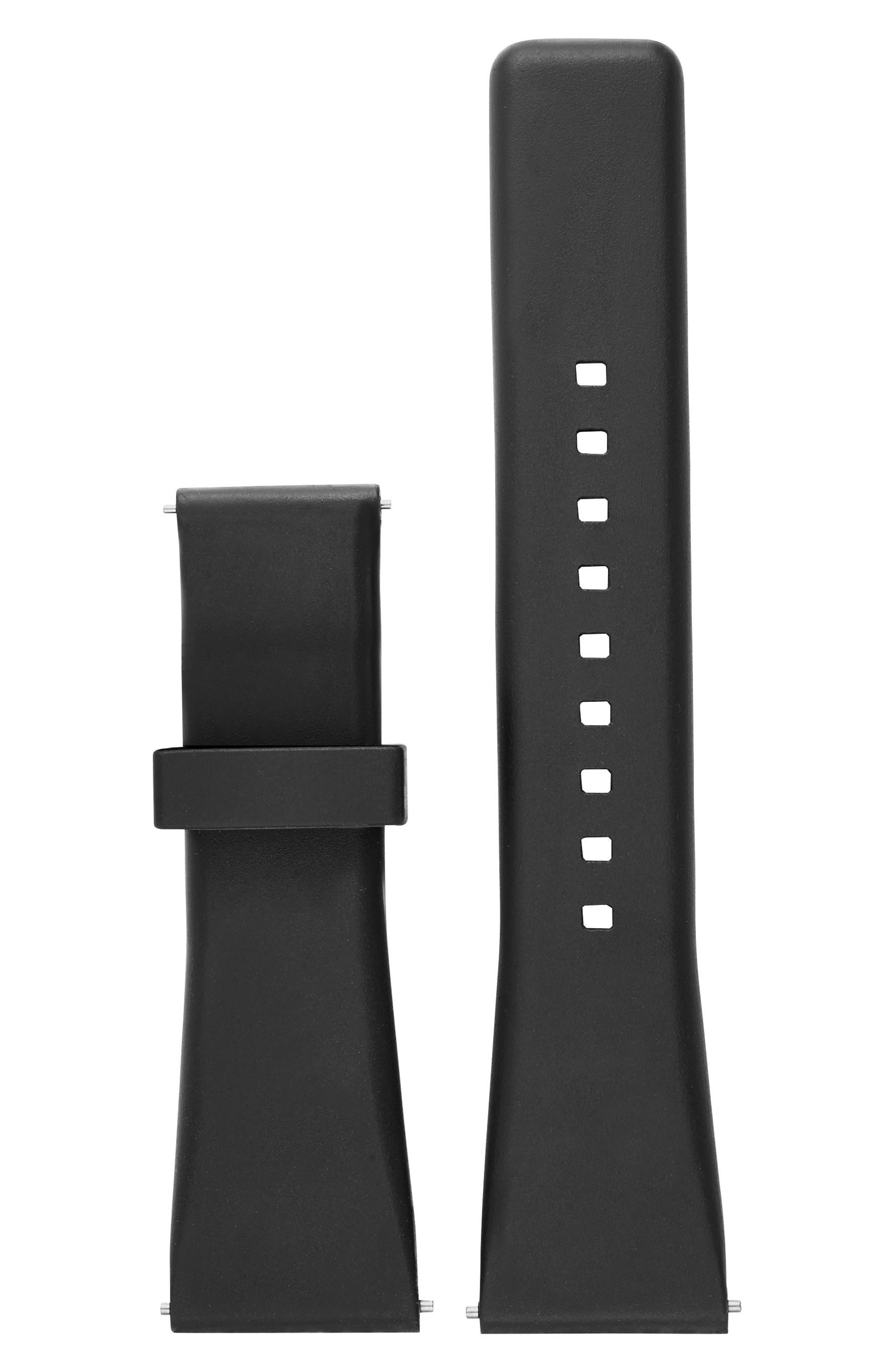Alternate Image 1 Selected - Michael Kors Bradshaw Interchangeable Silicone Strap