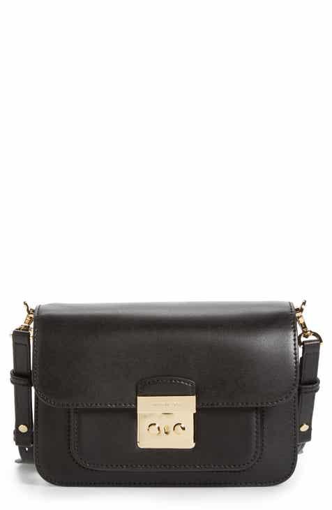 Michael Kors Large Sloan Editor Leather Shoulder Bag