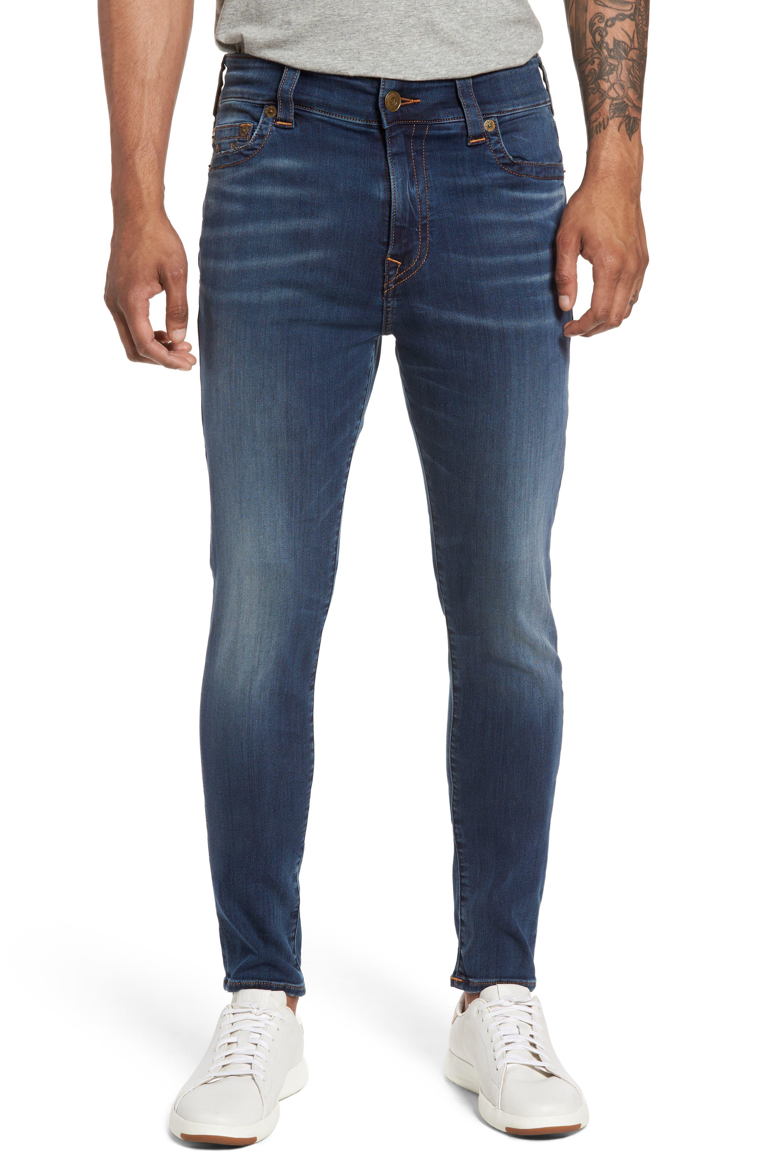 Alternate Image 1 Selected - True Religion Brand Jeans Jack Skinny Fit Jeans (Desert Highway)
