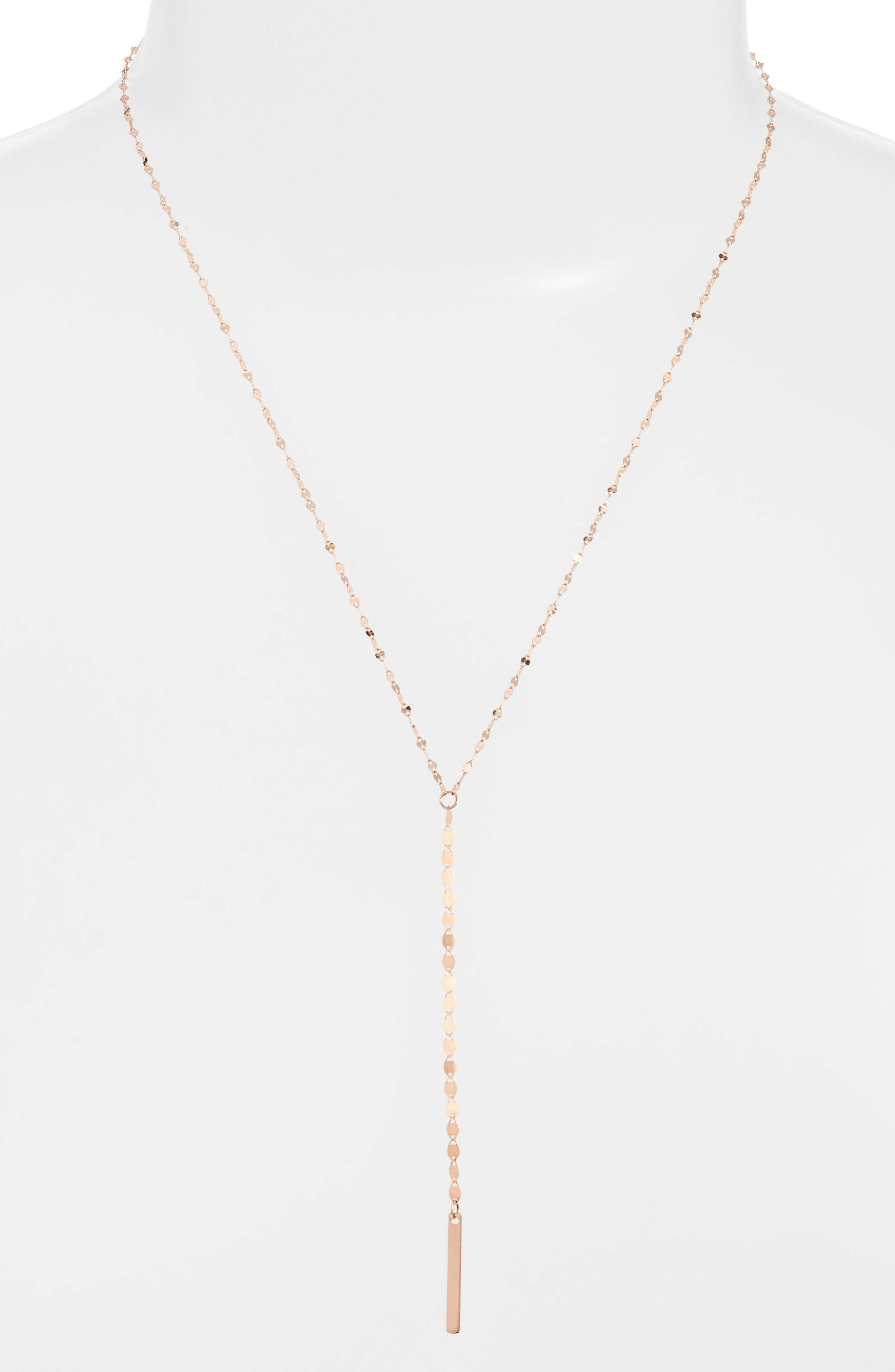 Alternate Image 1 Selected - Lana Jewelry Nude Remix Bar Y-Necklace