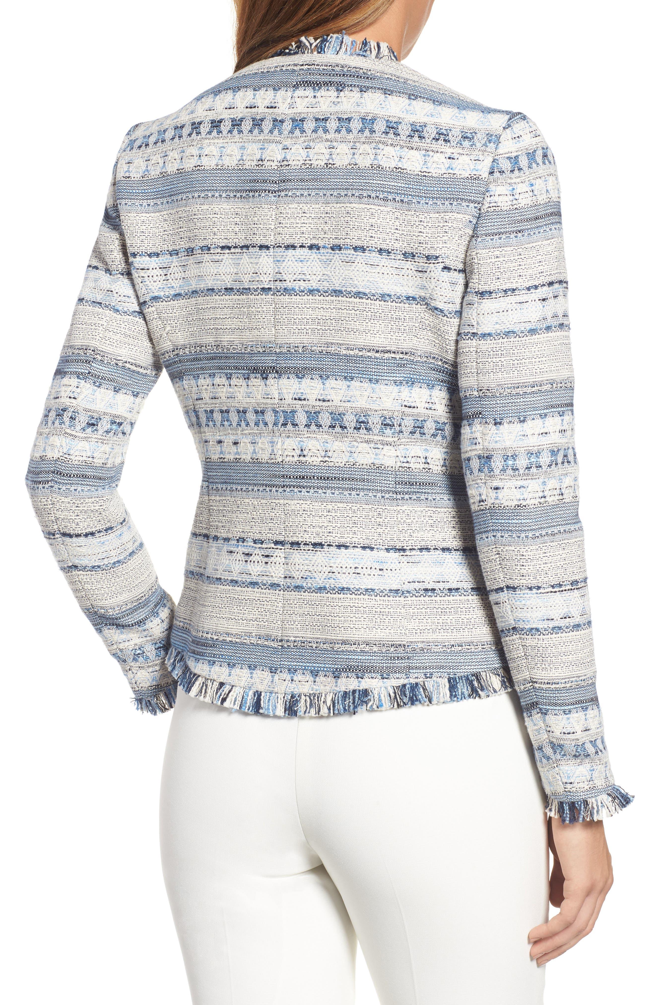 Alternate Image 2  - Anne Klein Tweed Jacket