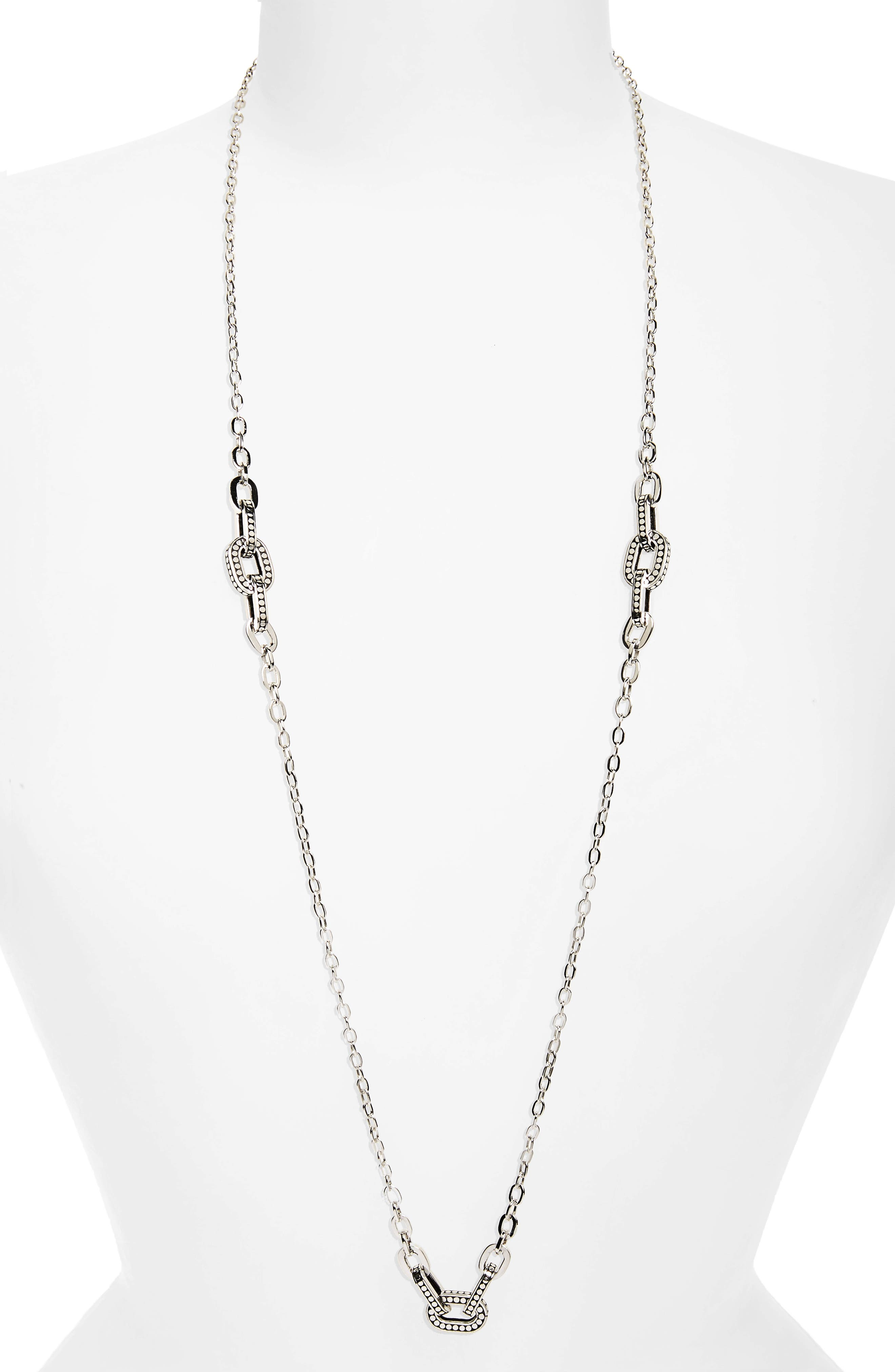 John Hardy Dot Sautoir Station Necklace