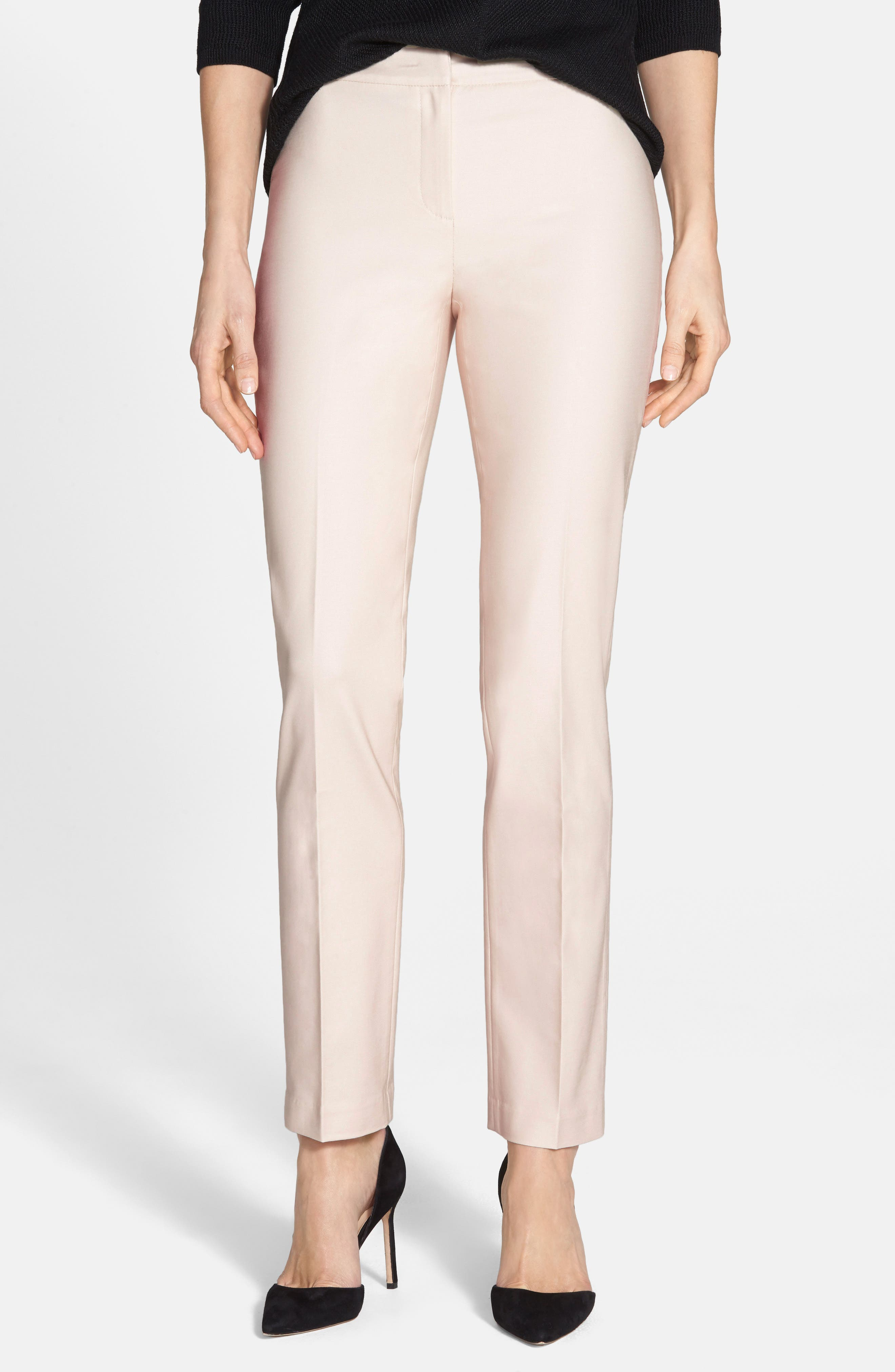 The Perfect Ankle Pants,                         Main,                         color, Pink Pearl