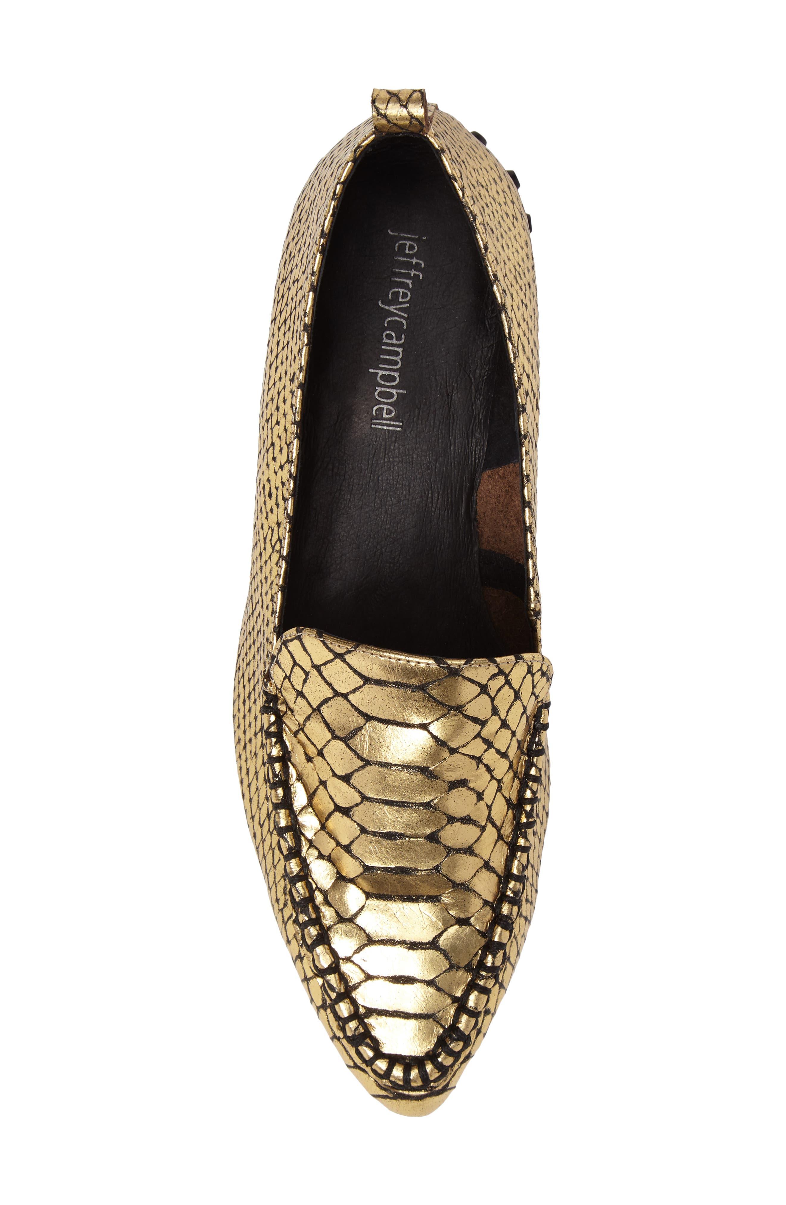 Alternate Image 5  - Jeffrey Campbell Barnett Studded Loafer (Women)