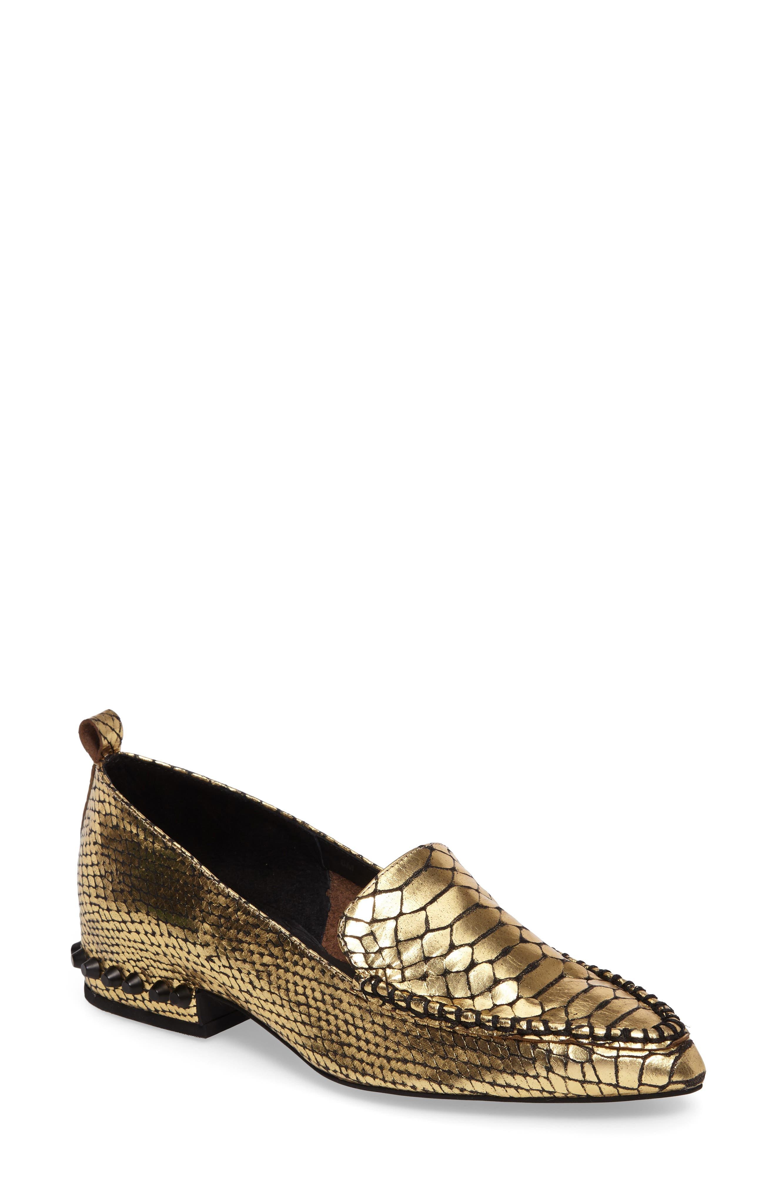 Alternate Image 1 Selected - Jeffrey Campbell Barnett Studded Loafer (Women)