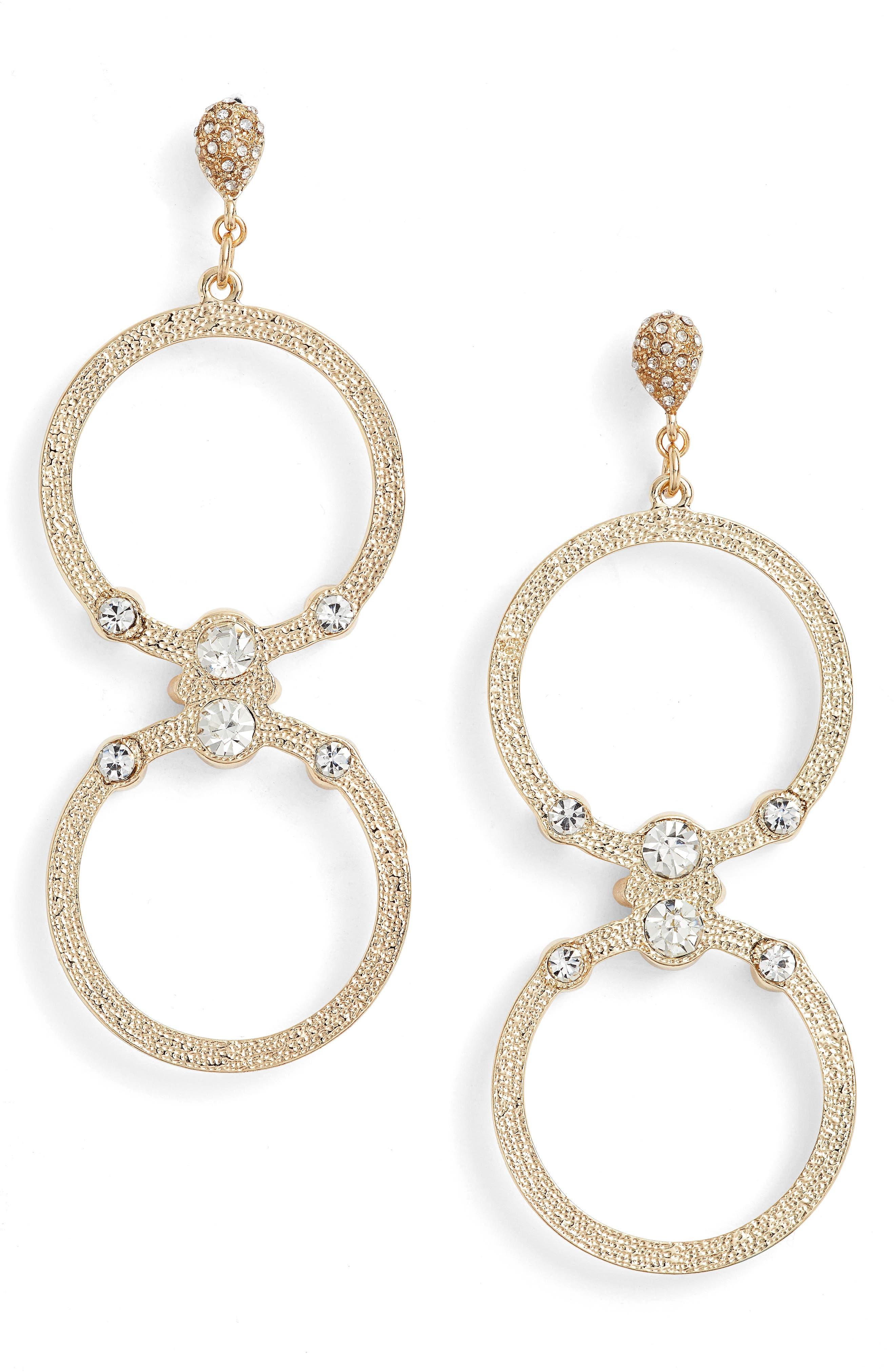 ETTIKA Double Hoop Earrings