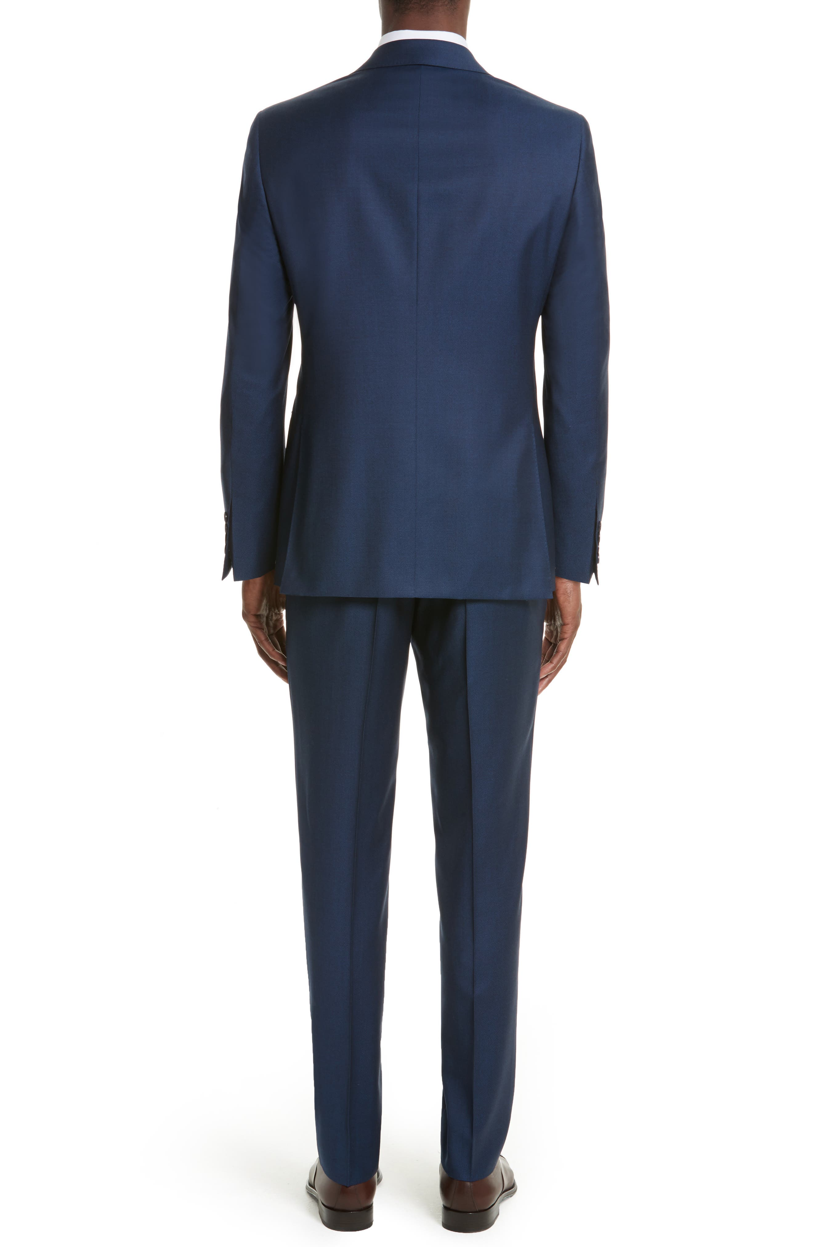 Alternate Image 2  - Canali Classic Fit Solid Wool Suit