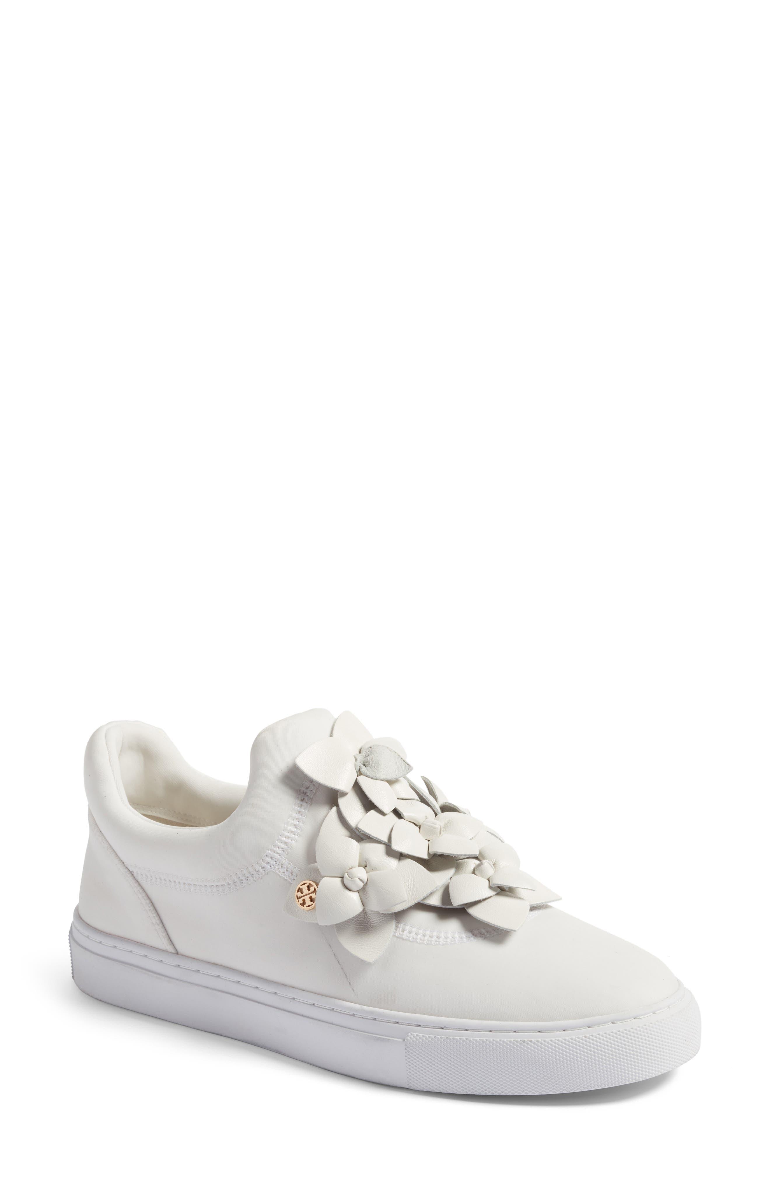 Alternate Image 1 Selected - Tory Burch Blossom Sneaker (Women)
