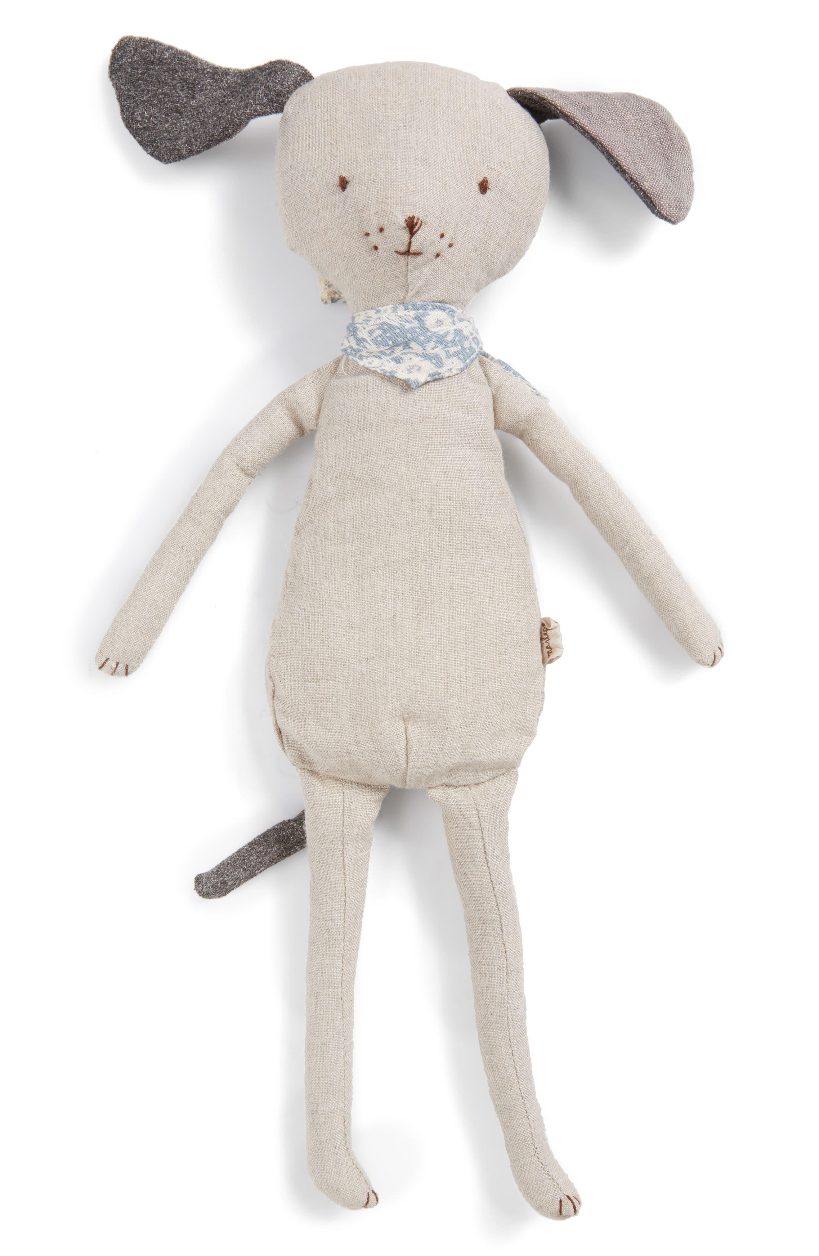 Best Friends Stuffed Dog,                         Main,                         color, Ivory