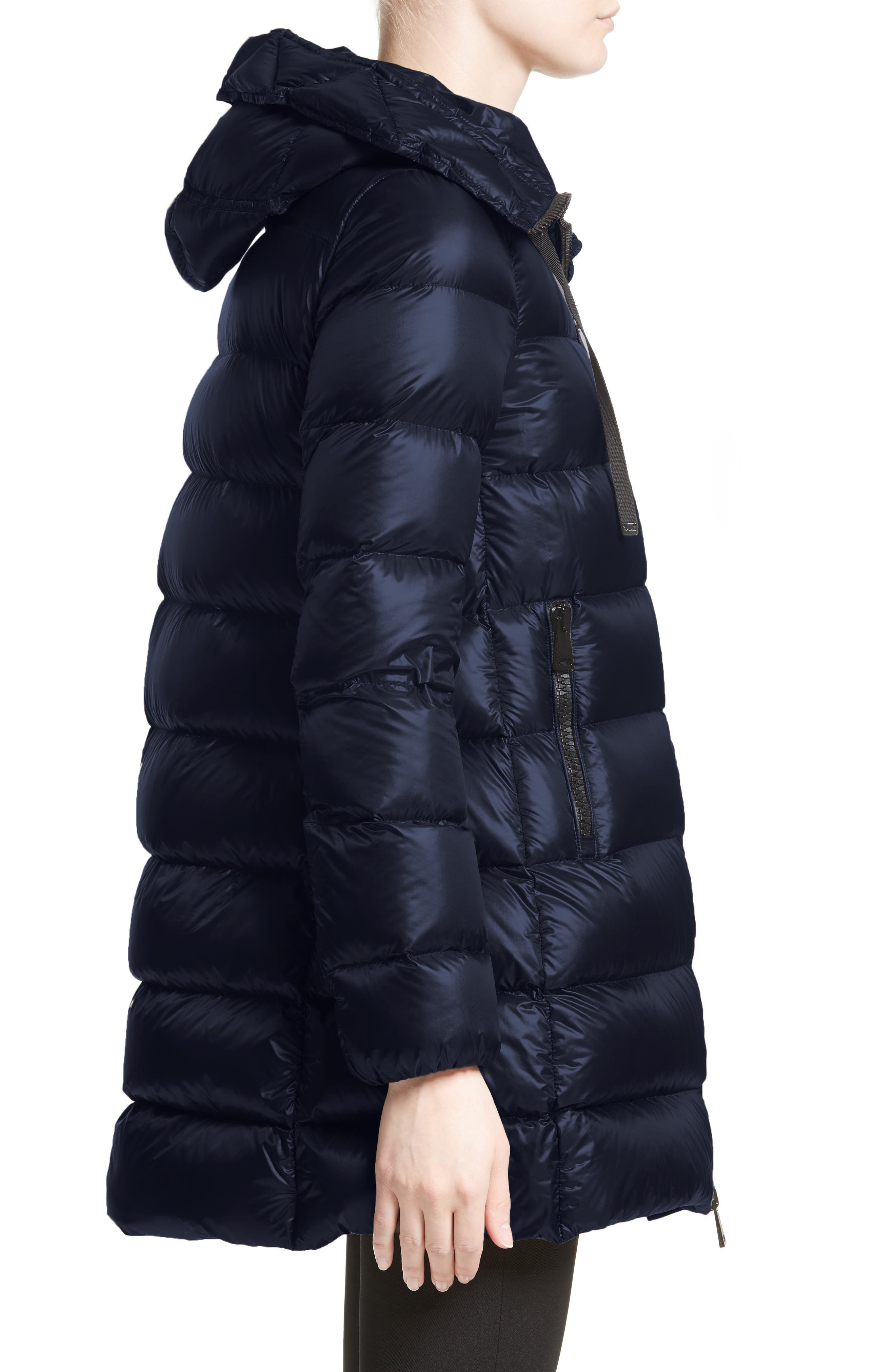 Alternate Image 5  - Moncler 'Suyen' Water Resistant Hooded Down Puffer Coat